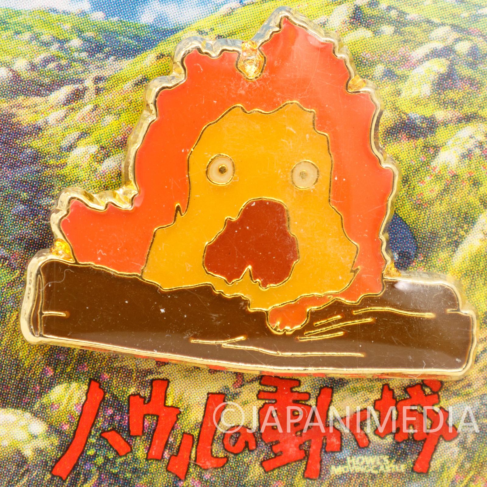 Howl's Moving Castle Calcifer Character Pins H-09 Ghibli JAPAN