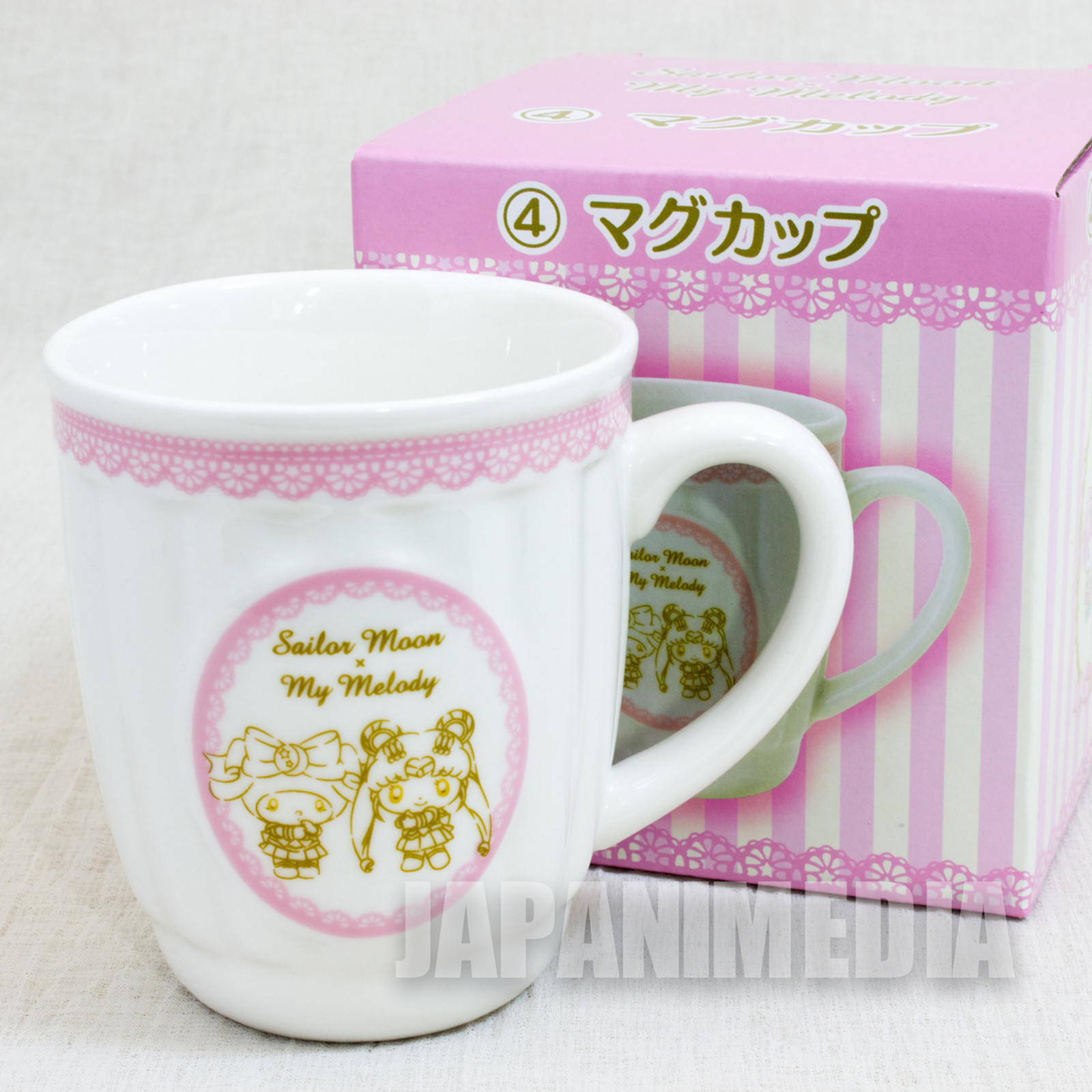 Sailor Moon x My Malody Mug Sanrio JAPAN ANIME MANGA