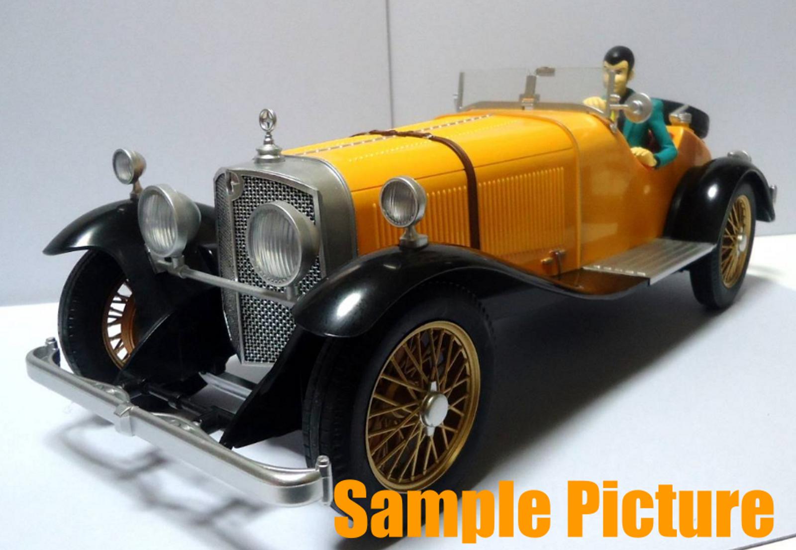 Lupin the Third (3rd) Model Car Mercedes Benz SSK Figure Banpresto JAPAN