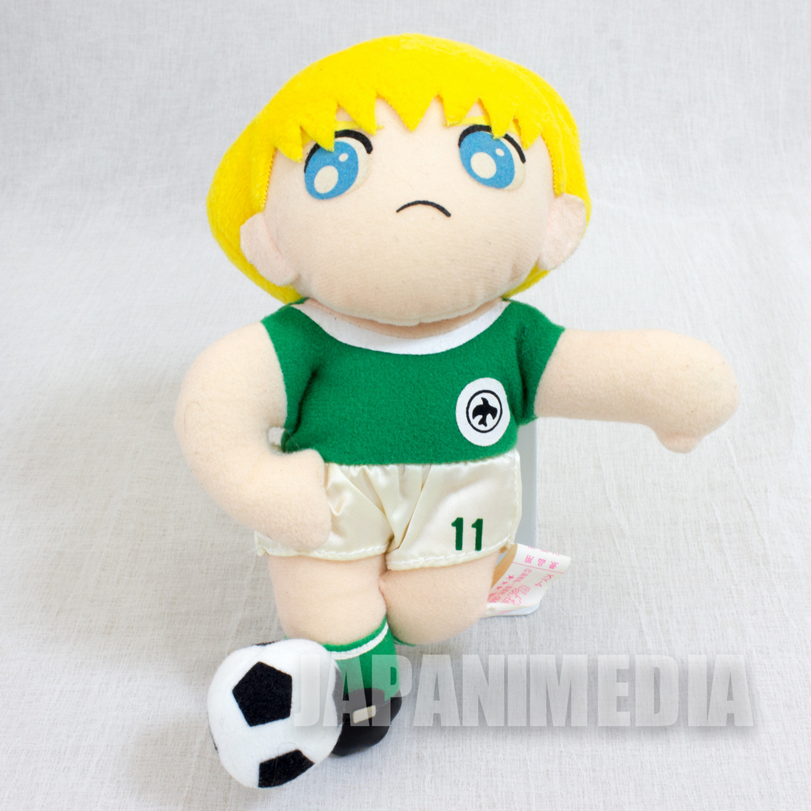Captain Tsubasa Karl Heinz Schneider Plush Doll 1993 JAPAN ANIME MANGA