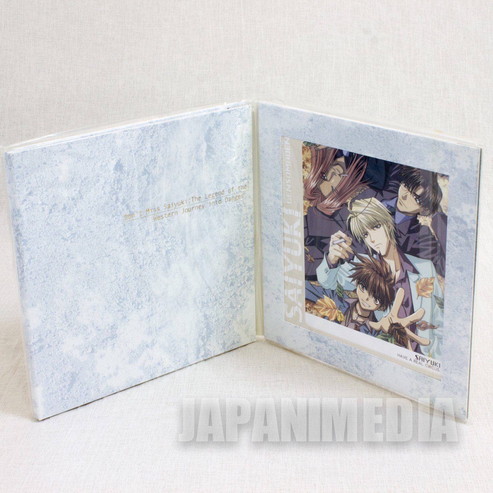Gensomaden Saiyuki Post Card Collection 15 sheets JAPAN ANIME