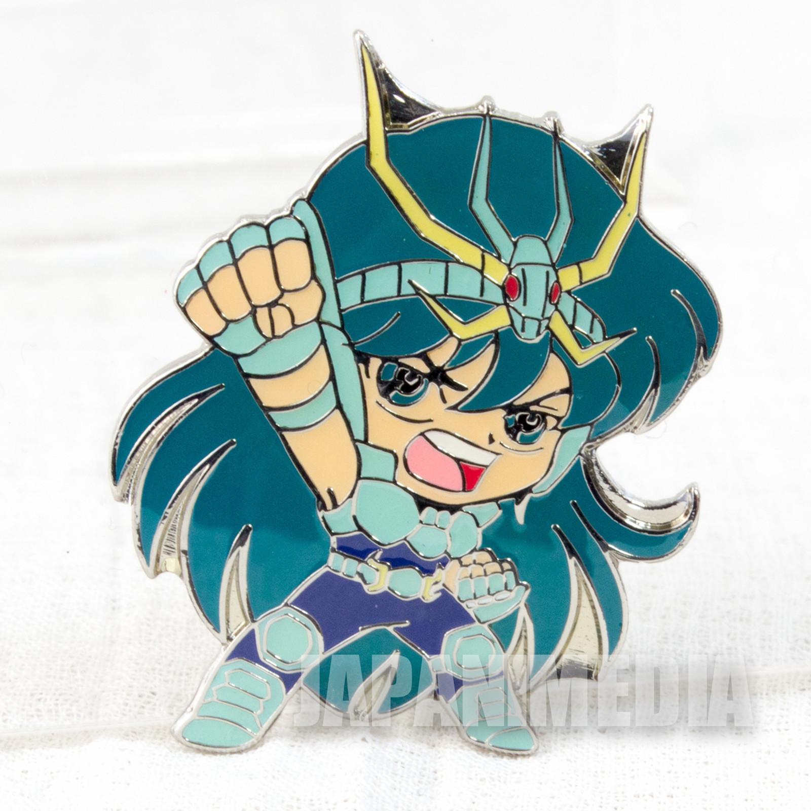 Saint Seiya Dragon Shiryu Metal Pins JAPAN ANIME MANGA