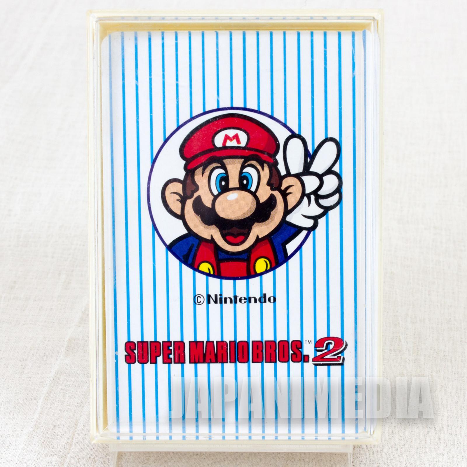 Super Mario Bros. 2 Trump Playing Cards Nintendo JAPAN FAMICOM