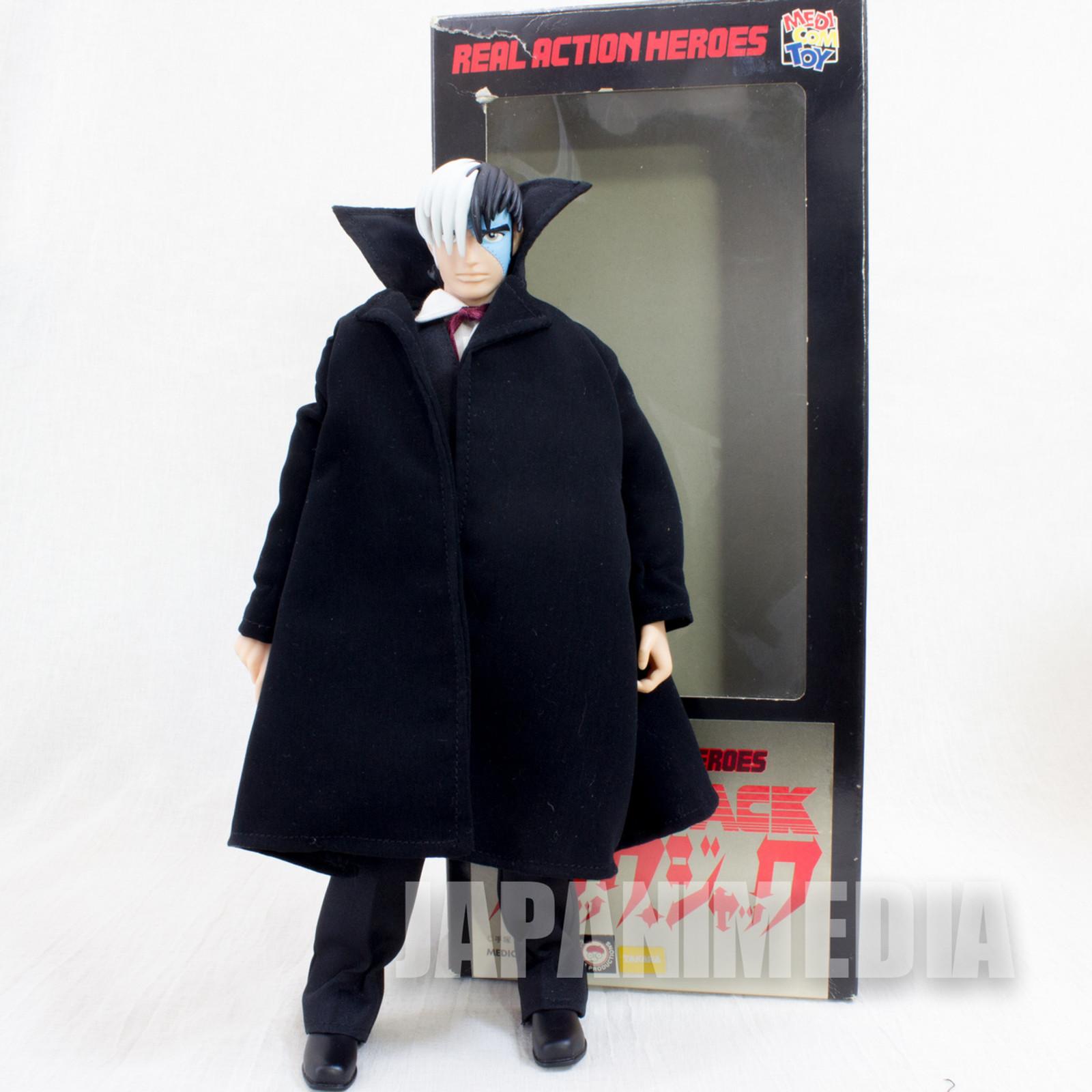 Black Jack Real Action Hero Figure Medicom Tezuka Osamu JAPAN MANGA