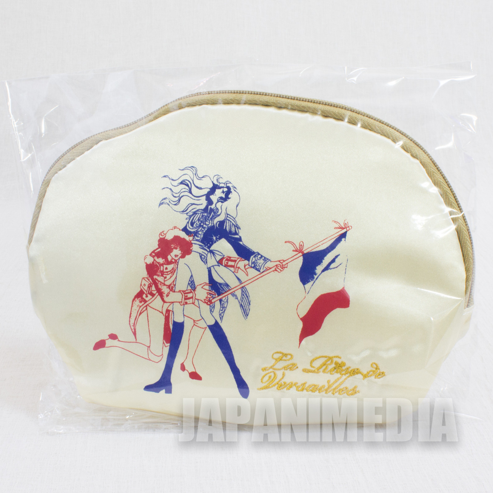 The Rose of Versailles Oscar & Andre Pouch Bag JAPAN ANIME MANGA