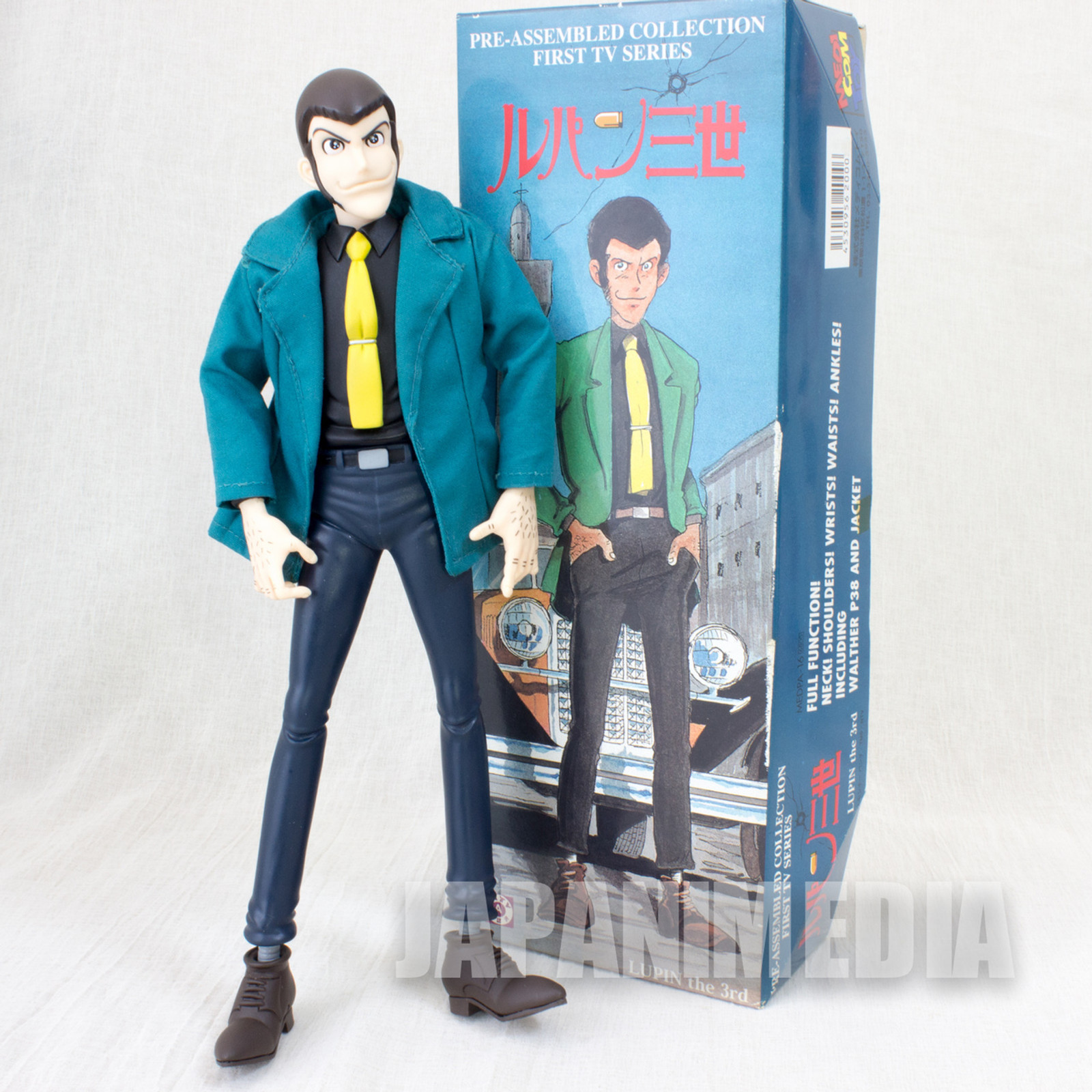Lupin the Third (3rd) LUPIN Figure First TV Series Medicom Toy JAPAN ANIME