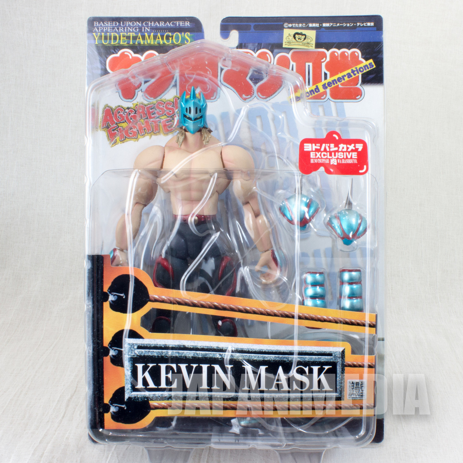 Kinnikuman 2nd KEVIN MASK Sapphire Blue Generation Romando PVC Action Figure