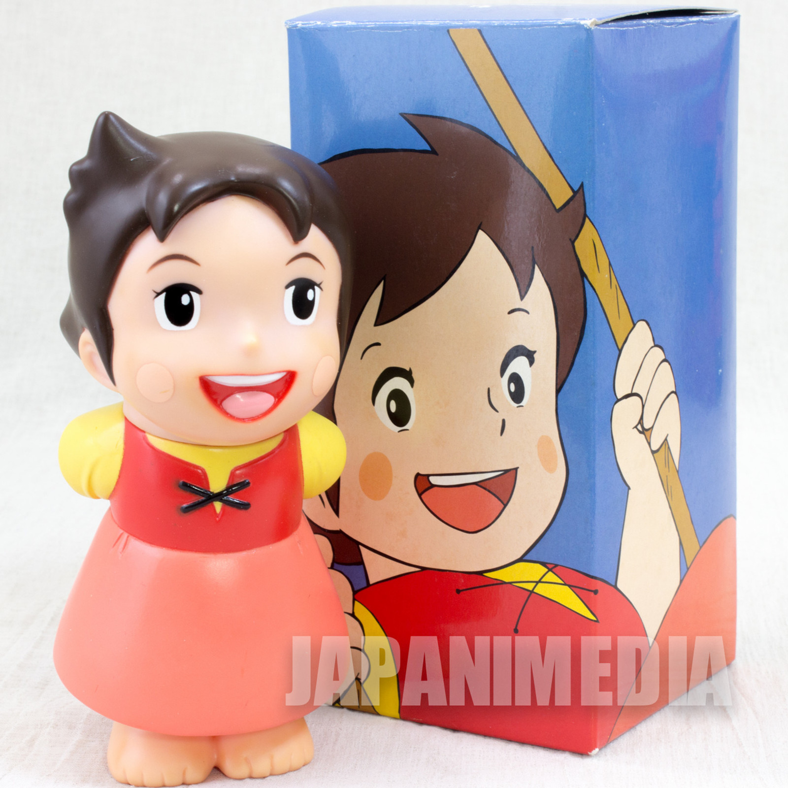 Heidi Girl of the Alps Heidi Figure Coin Bank JAPAN