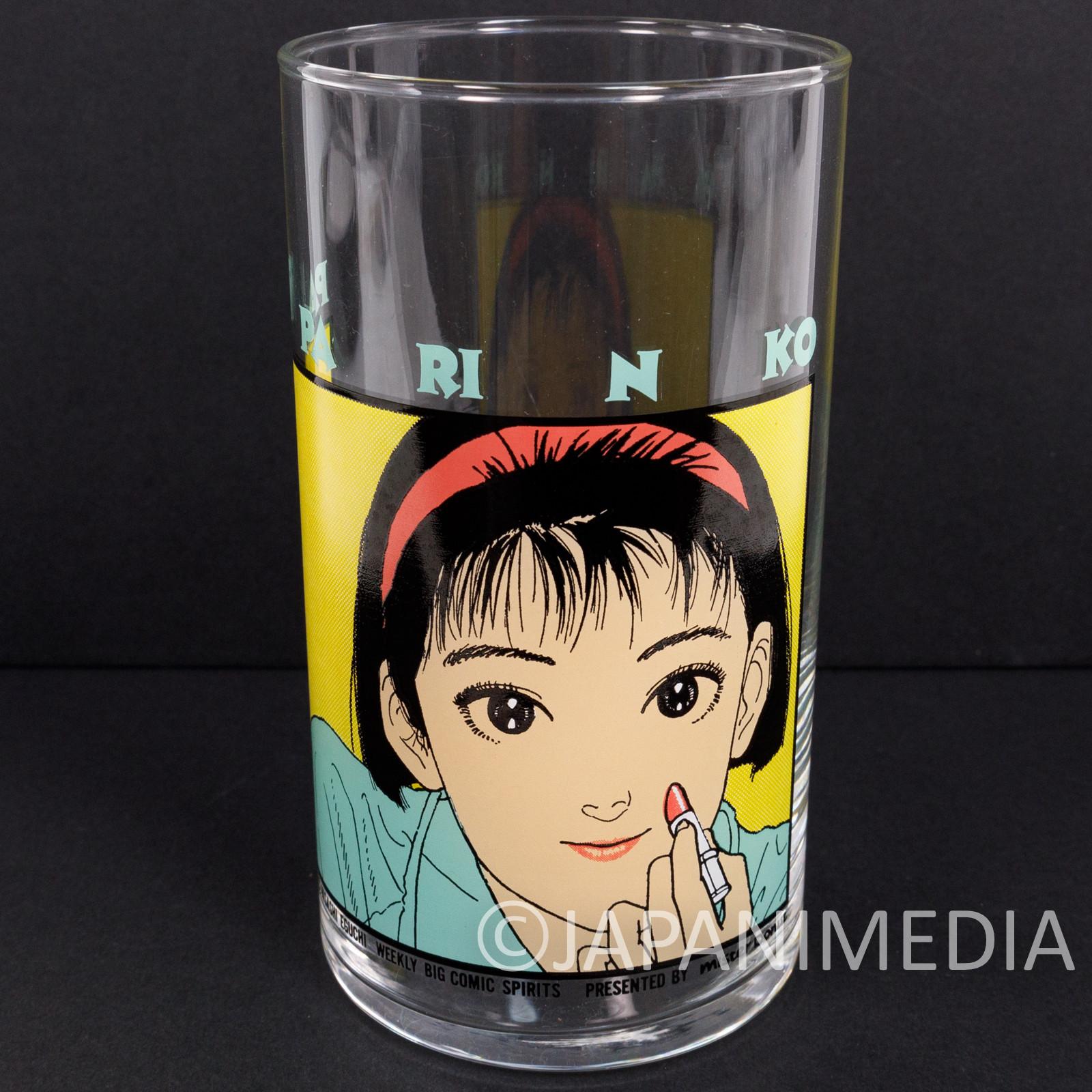 Retro RARE! PAPARINKO Glass Hisashi Eguchi Mister Donut JAPAN ANIME MANGA 3 #