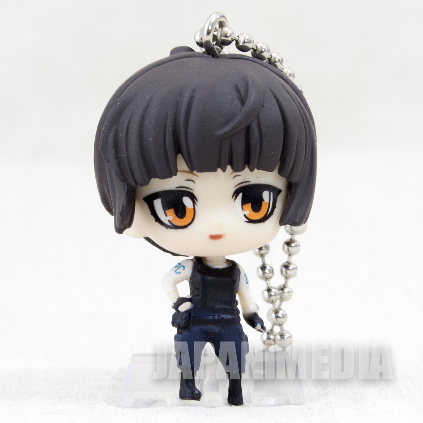 Psycho-Pass Akane Tsunemori Deformed Mini Figure Ball Keychain TAKARA TOMY JAPAN