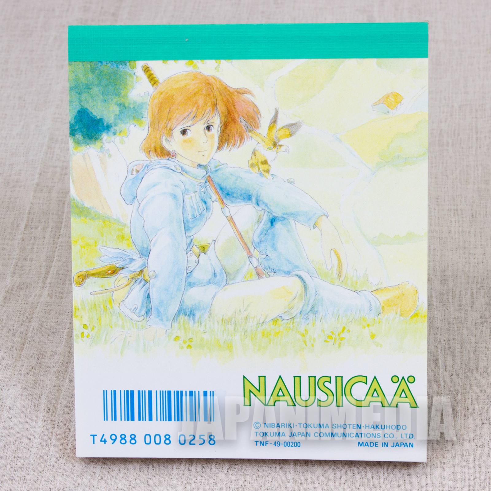 Retro RARE Nausicaa of the Valley of the Wind Memo Pad Ghibli JAPAN ANIME