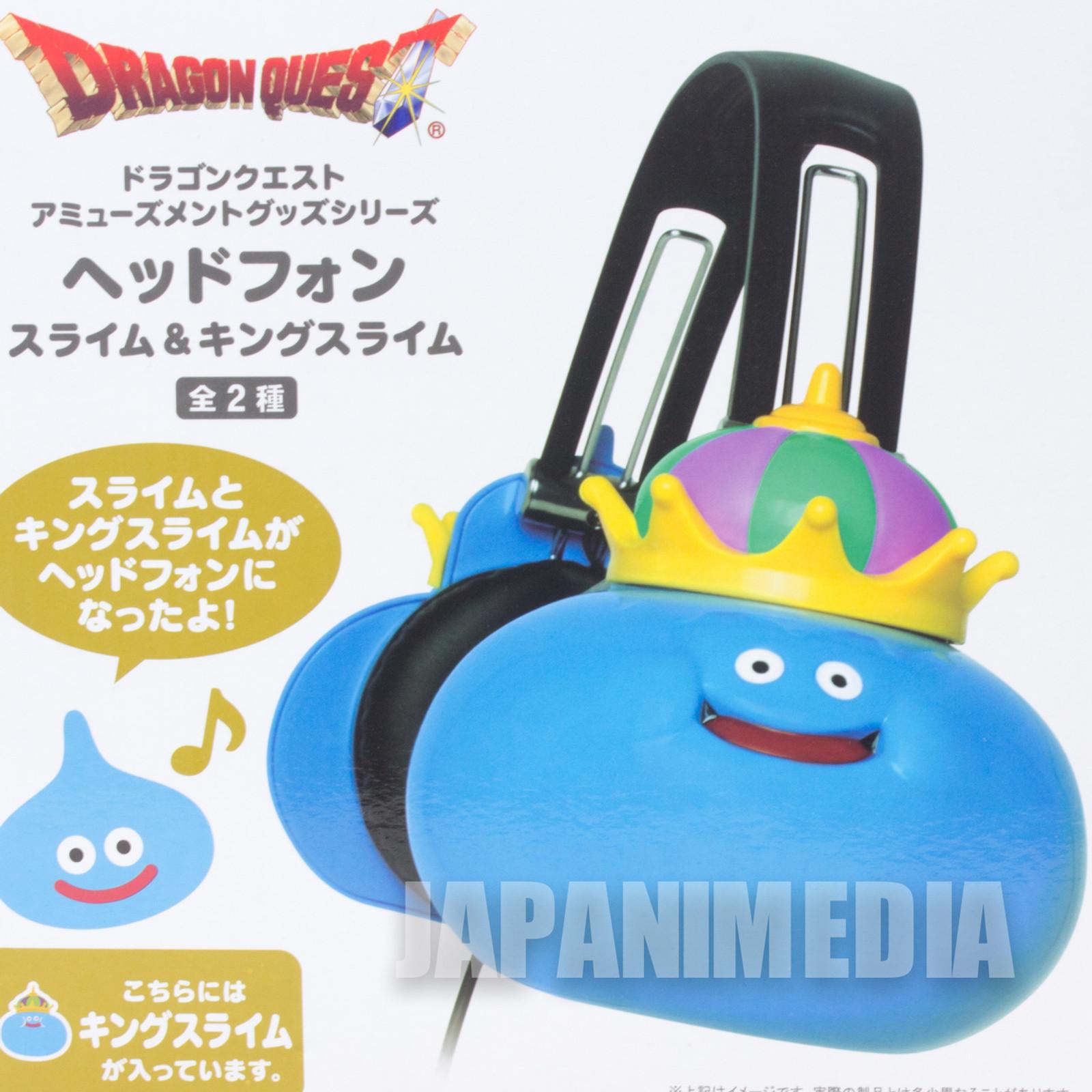 Dragon Quest King Slime Headphone Square Enix JAPAN GAME WARRIOR