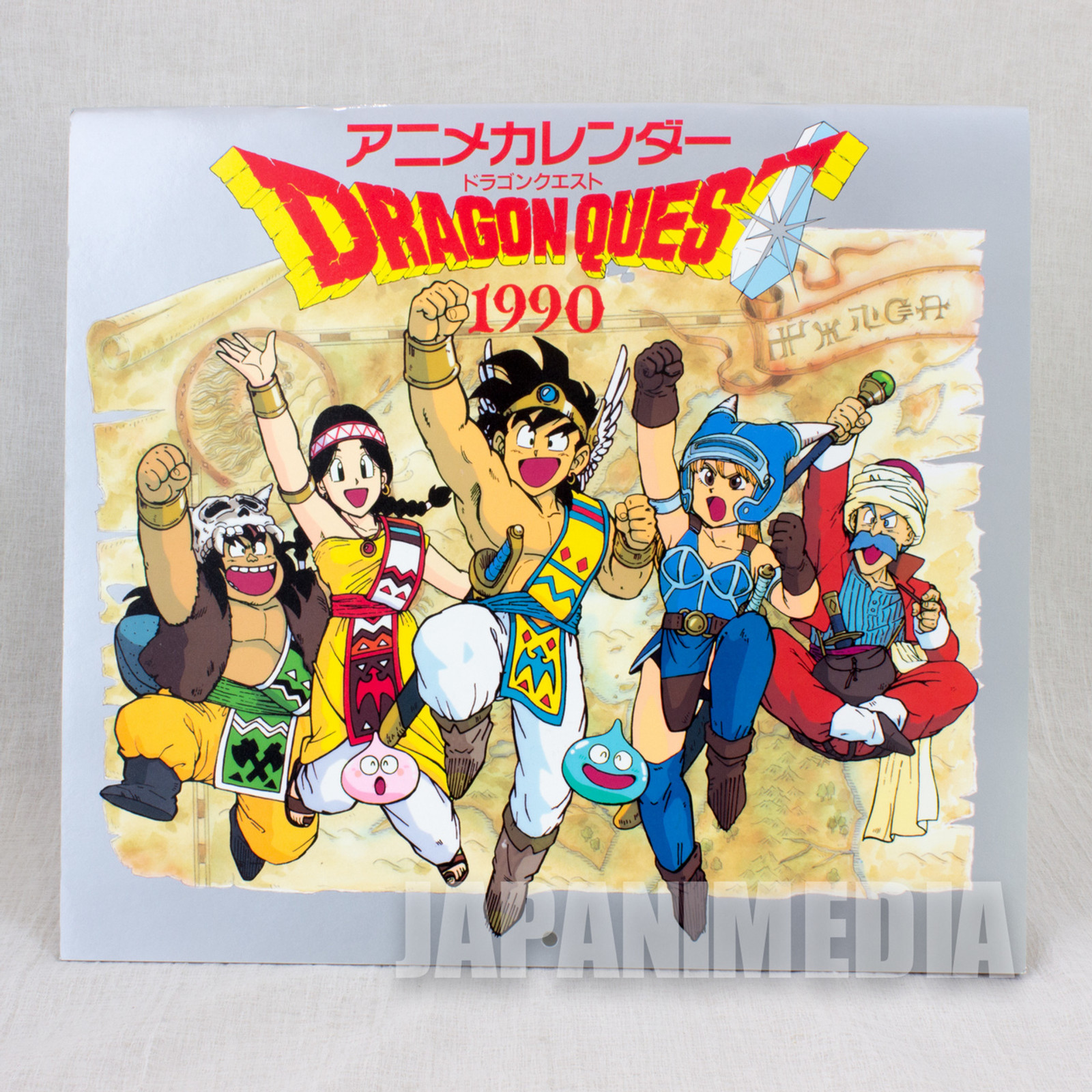 Dragon Quest : Legend of the Hero Abel Calendar 1990 Enix