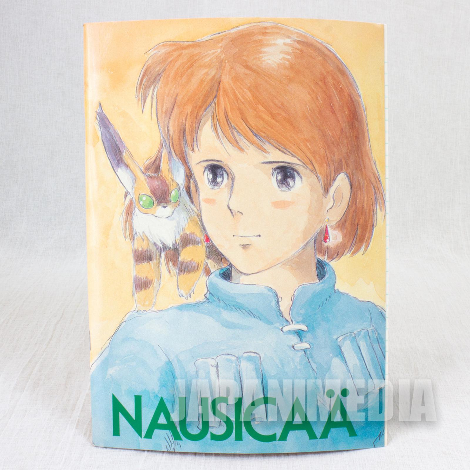 Retro RARE Nausicaa of the Valley Notebook #1 Ghibli JAPAN ANIME MANGA