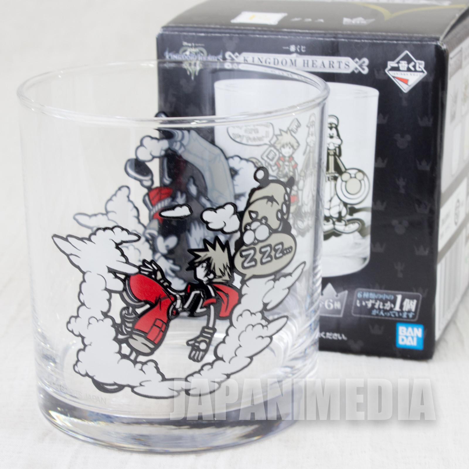 Kingdom Hearts Glass #2 BANDAI JAPAN GAME SQUARE ENIX