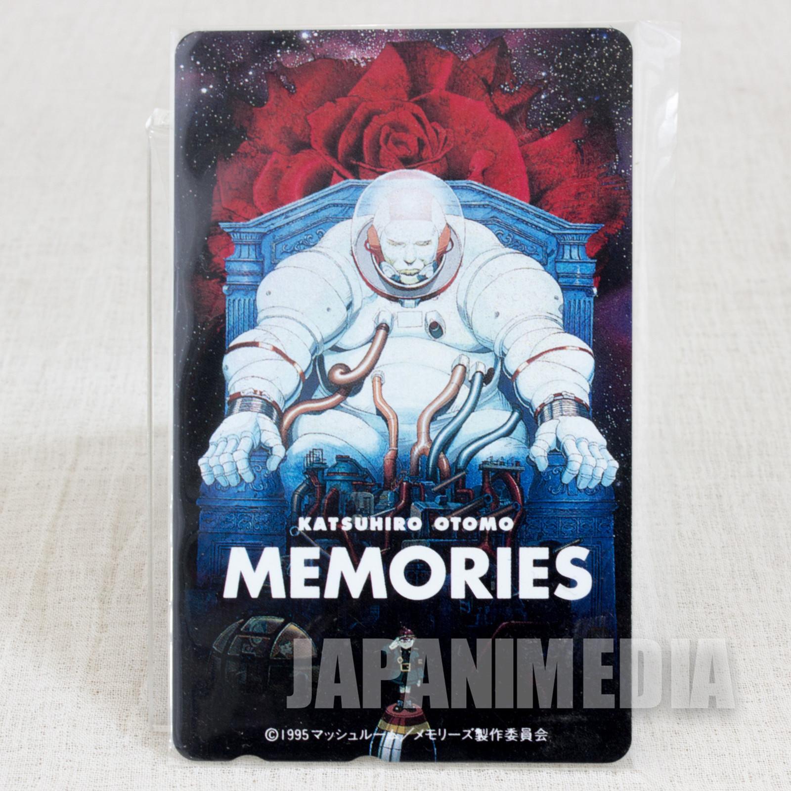 Retro Memories Telephone Card Katsuhiro Otomo JAPAN ANIME