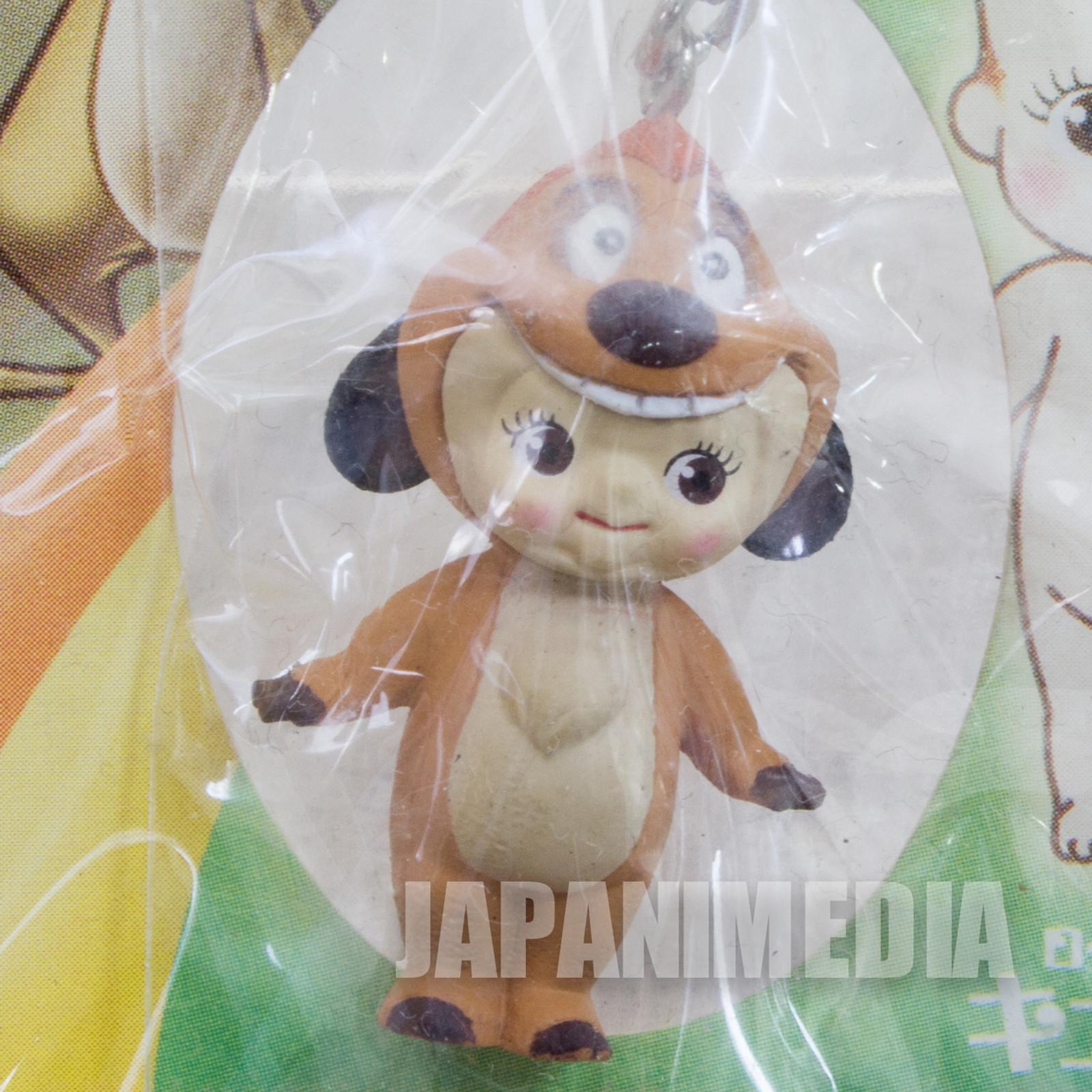 Disney Lion King Timon Rose O'neill Kewpie Kewsion Strap JAPAN ANIME