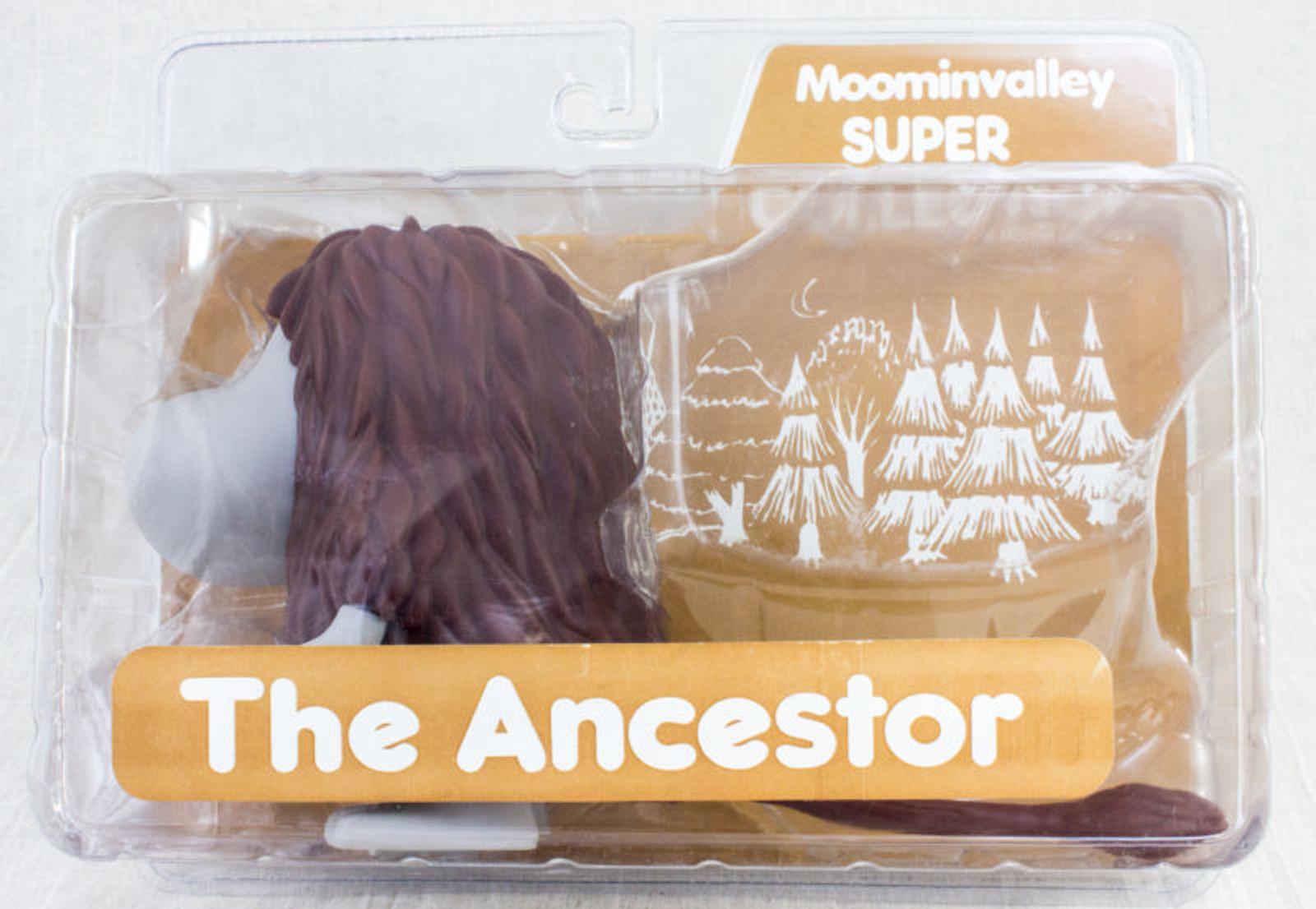 RARE The Ancestor PVC Figure Moomin valley Super Collection Sekiguchi STOC JAPAN