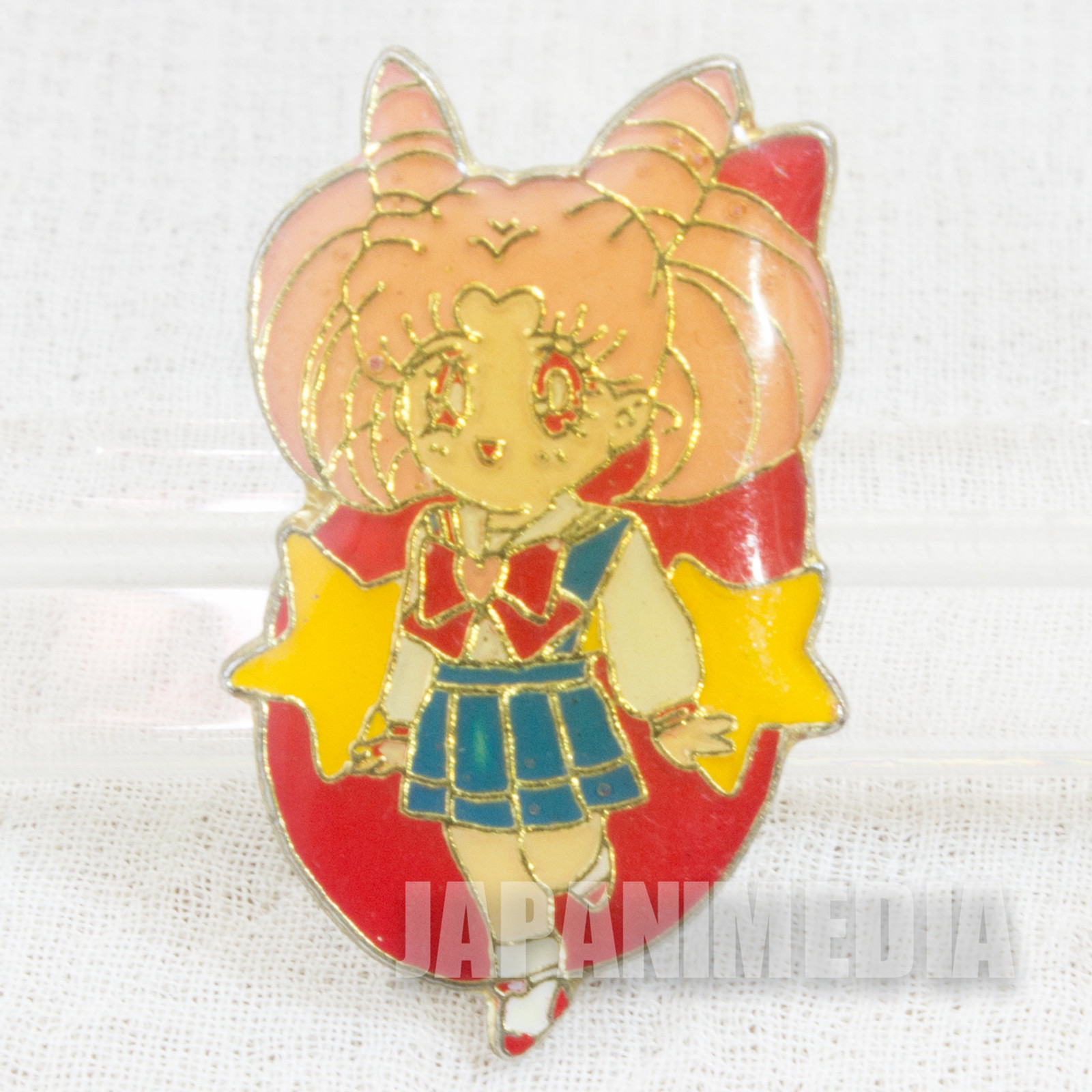 Sailor Moon Chibiusa (Sailor Chibi Moon) Metal Pins Badge JAPAN ANIME 2