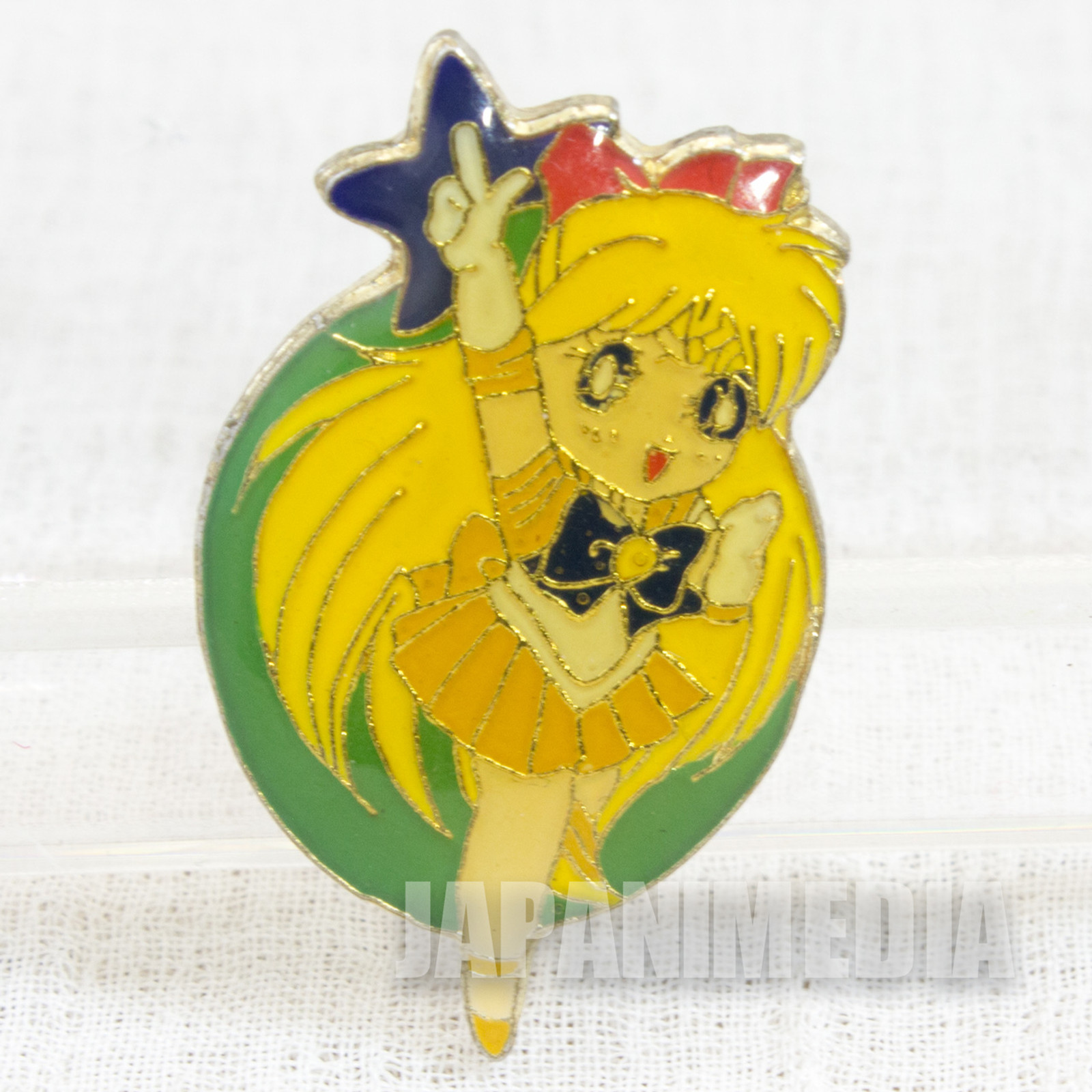 Sailor Moon Sailor Venus (Minako Aino) Metal Pins Badge JAPAN ANIME 4