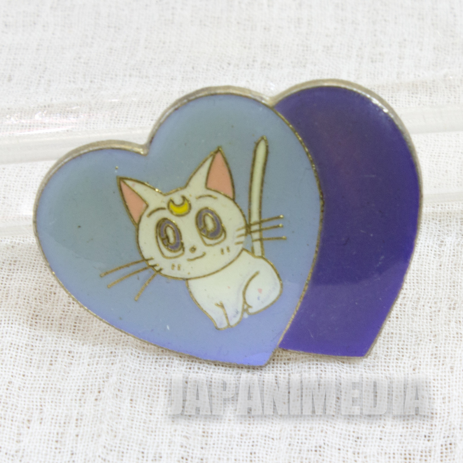 Pretty Soldier Sailor Moon A Artemis Metal Pins Badge JAPAN ANIME
