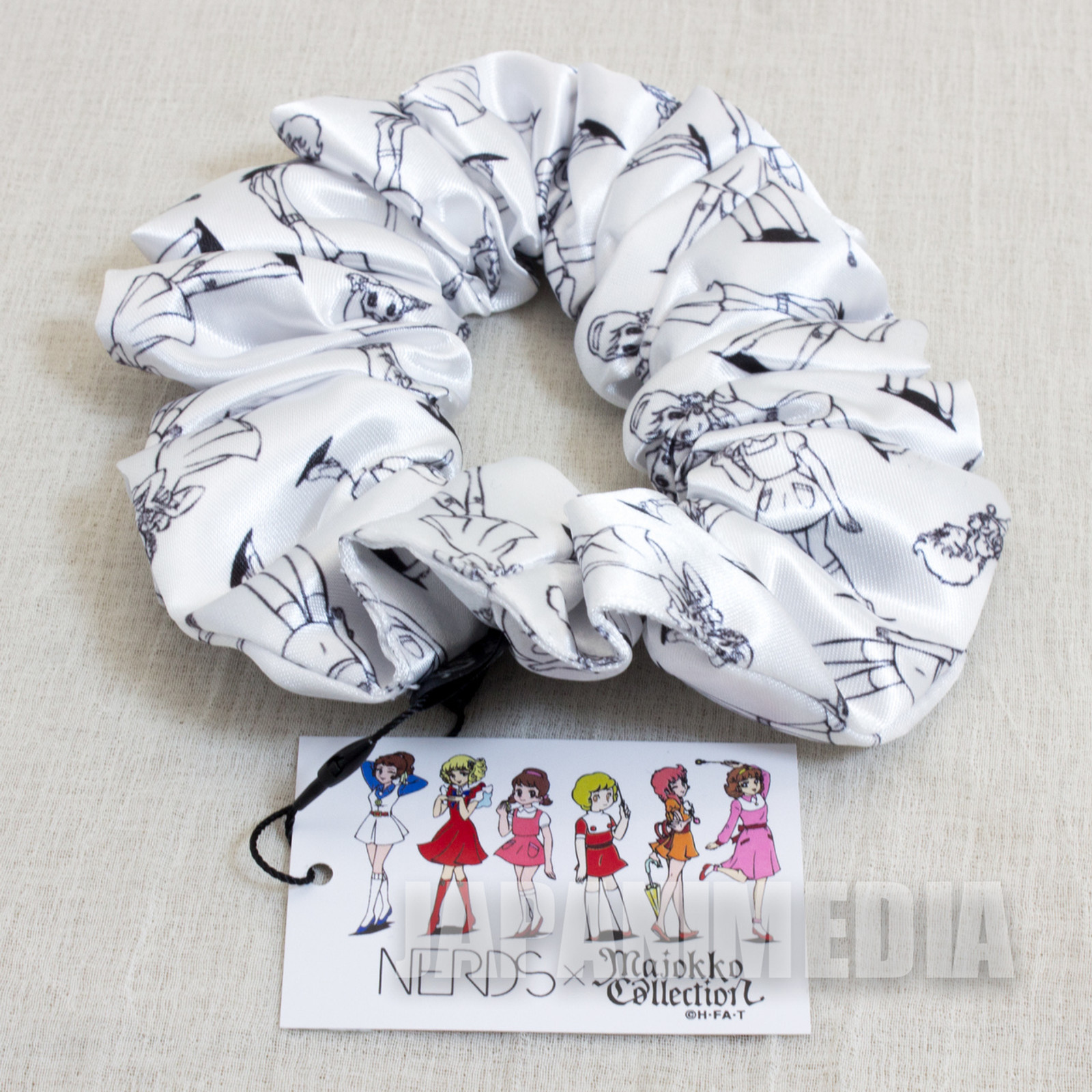 Majokko Collection x NERDS Scrunchie TOEI [Sally / Akko / Mako / Megu / Lunlun / Lalabel] JAPAN ANIME