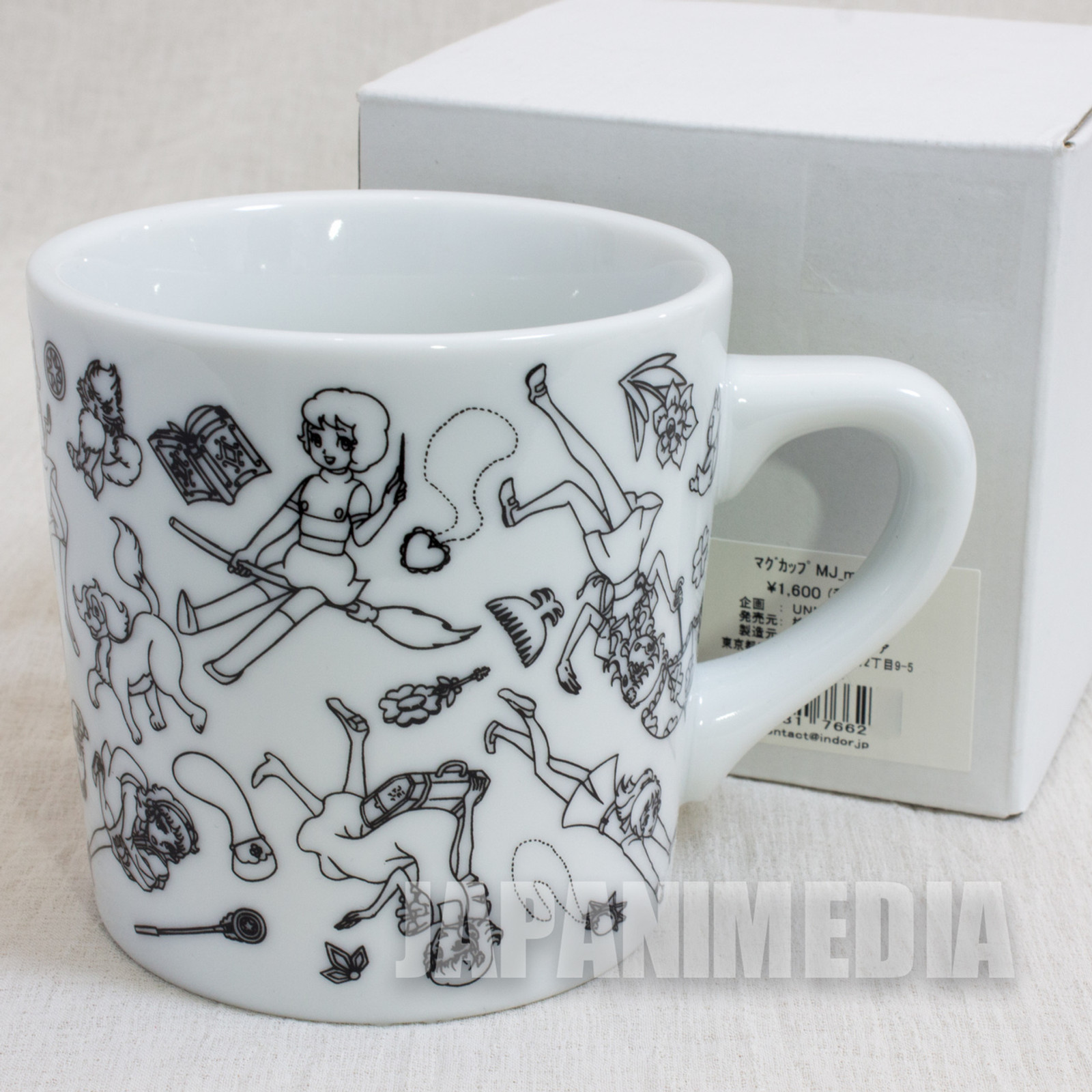Majokko Collection x NERDS Mug TOEI [Sally / Akko / Mako / Megu / Lunlun / Lalabel] JAPAN ANIME