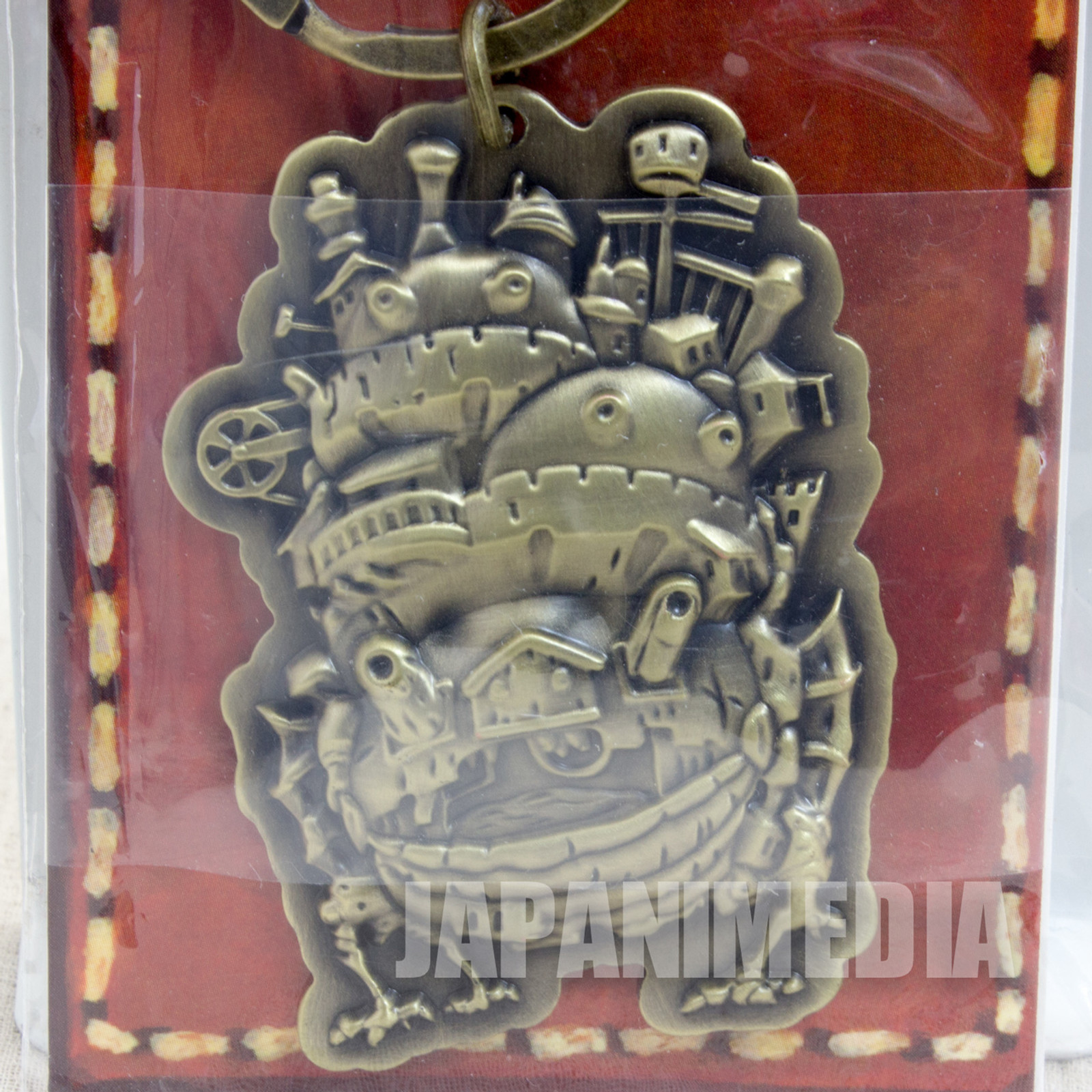 Howl's Moving Castle Metal Key Chain Ghibli JAPAN ANIME
