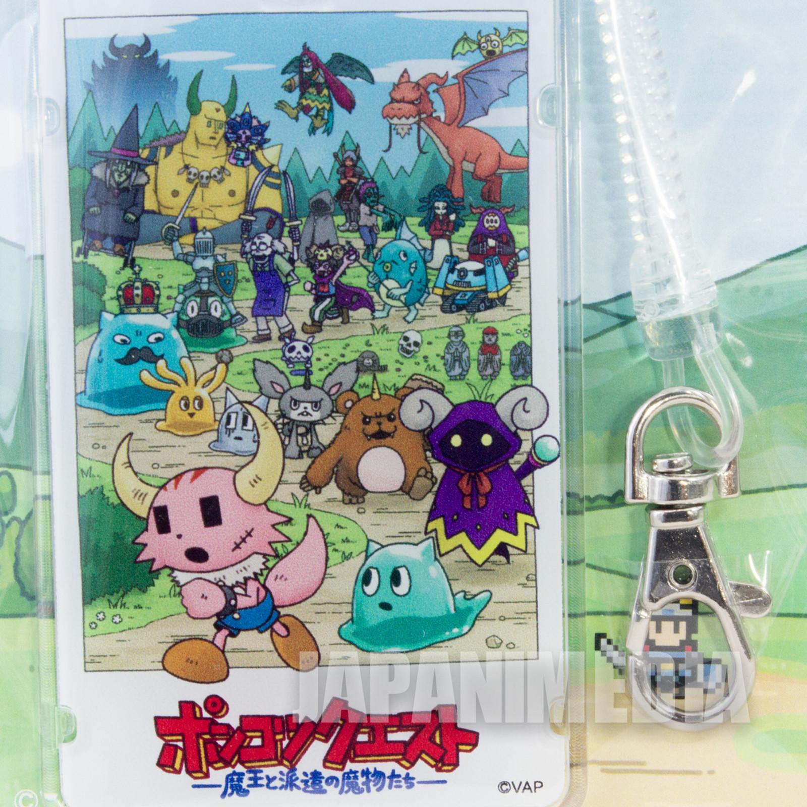 Ponkotsu Quest Plastic IC Card Case [Kaku / Imura / Kuronuma / Tsuchida ...etc.]JAPAN ANIME