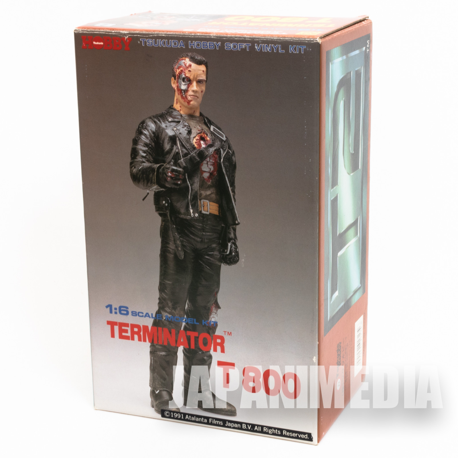 Terminator T800 1/6 Scale Soft Vinyl Model Kit Tsukuda Hobby JAPAN