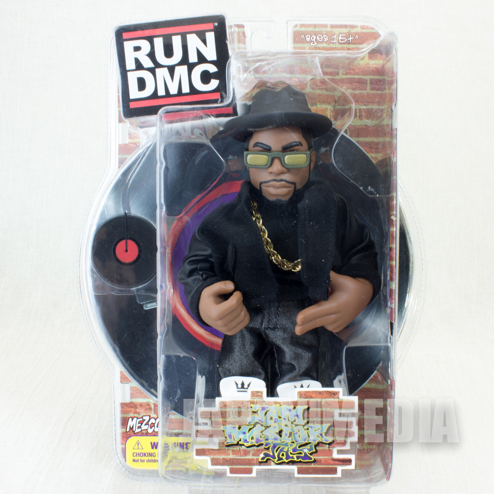 RUN DMC Jam Master Jay Action Figure Black Clothes Ver. Mezco Toy HIP HOP RAP