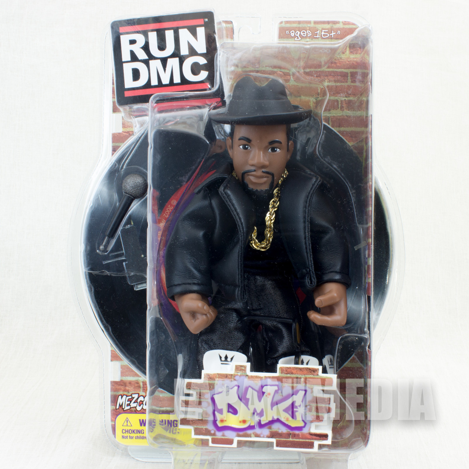 RUN DMC DMC Action Figure Black Clothes Ver. Mezco Toy HIP HOP RAP