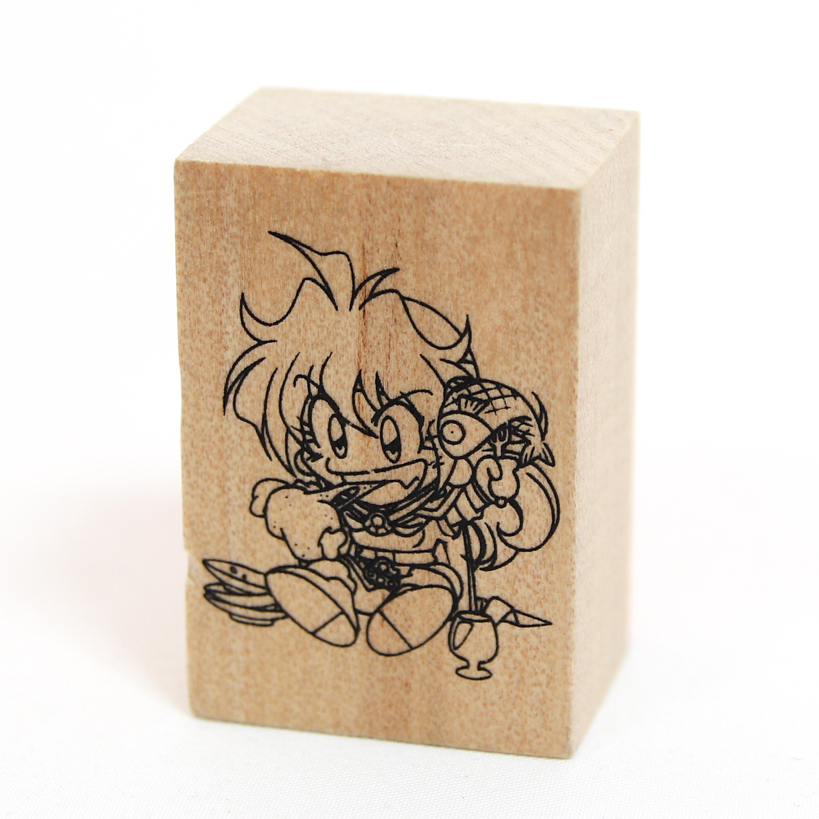 Slayers TRY Lina Inverse Stamp JAPAN ANIME