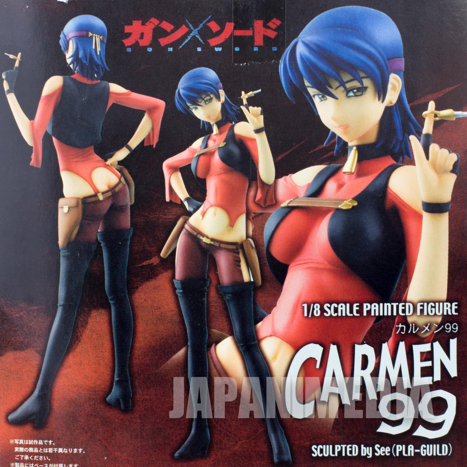 Gun x Sword Carmen 99 Figure 1/8 Scale Max Factory JAPAN ANIME MANGA