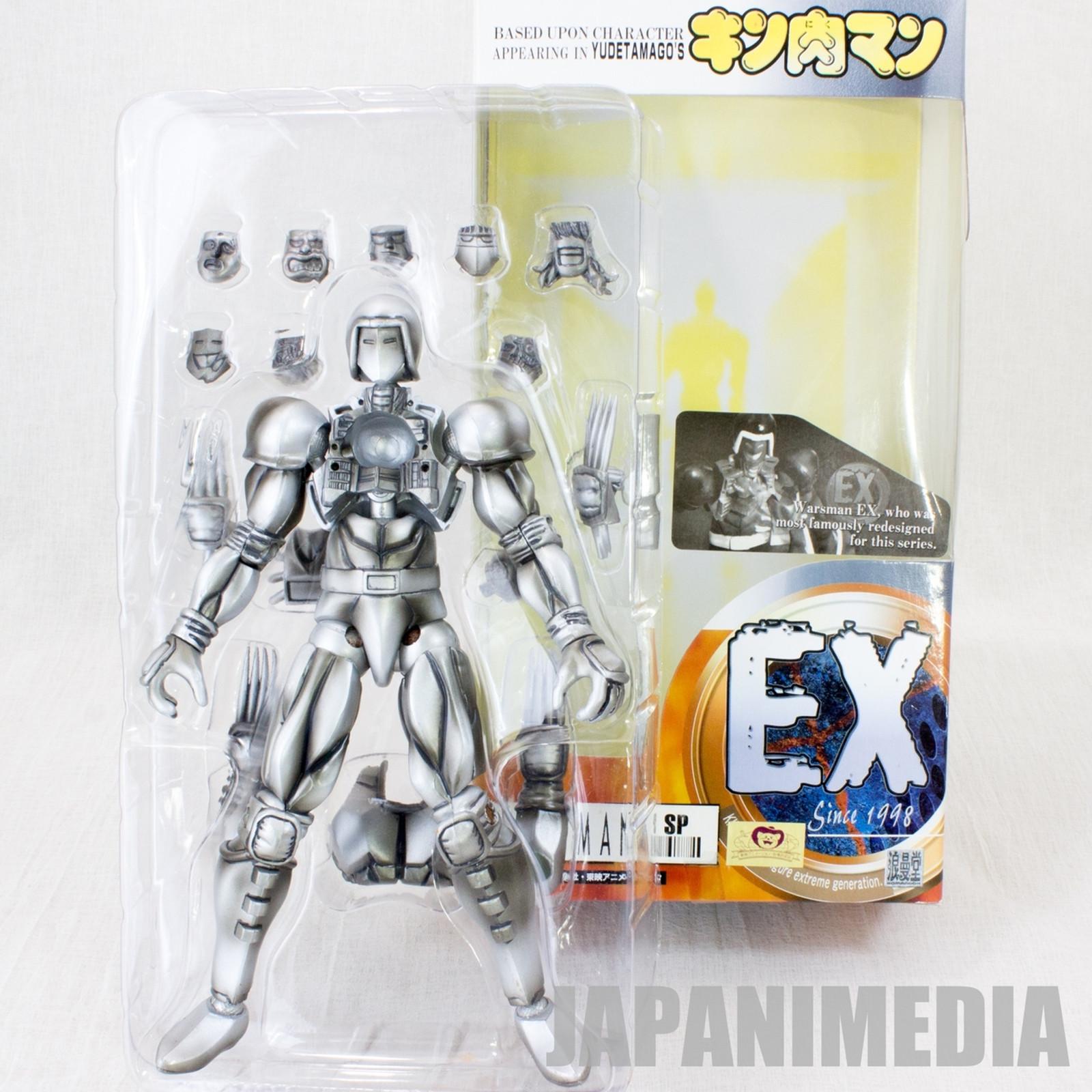 KINNIKUMAN WARSMAN Romando EX Metal Color PVC Figure JAPAN ANIME