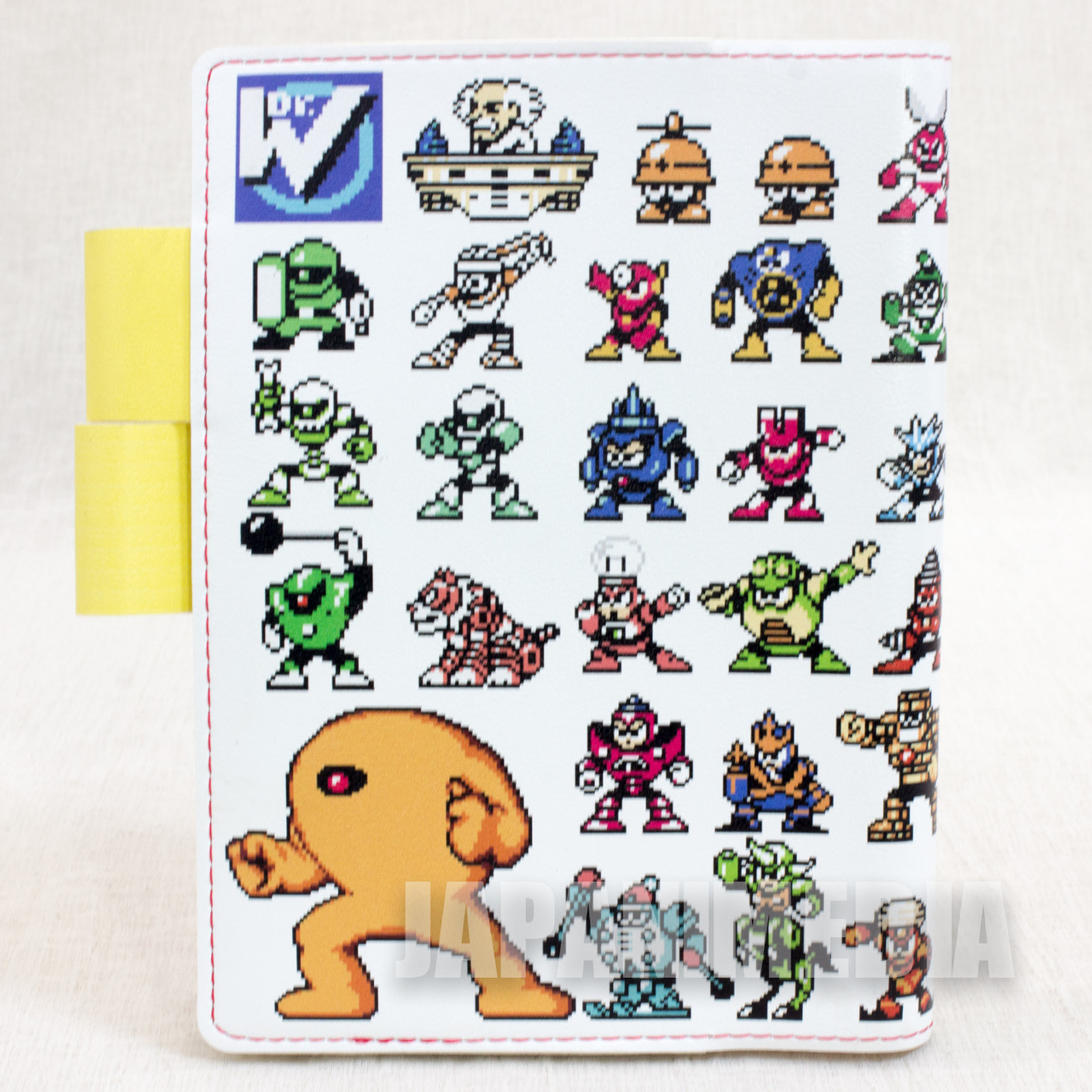 Mega man Rockman Dr. Wily Numbers Case Cover for Schedule Planner JAPAN CAPCOM