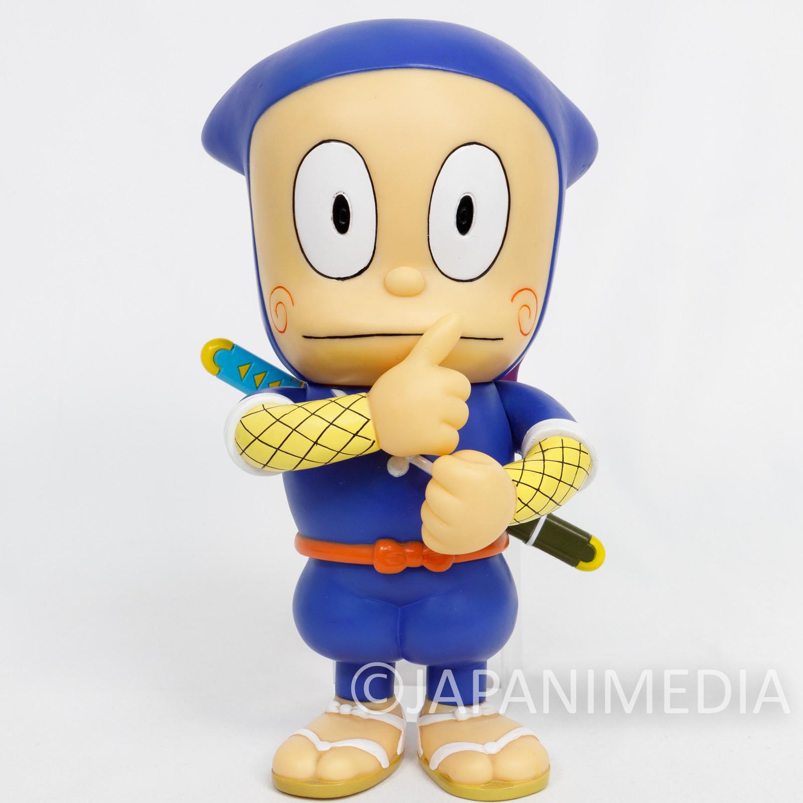 Retro RARE Ninja Hattori-kun Soft Vinyl Figure RUN'A JAPAN FUJIKO FUJIO