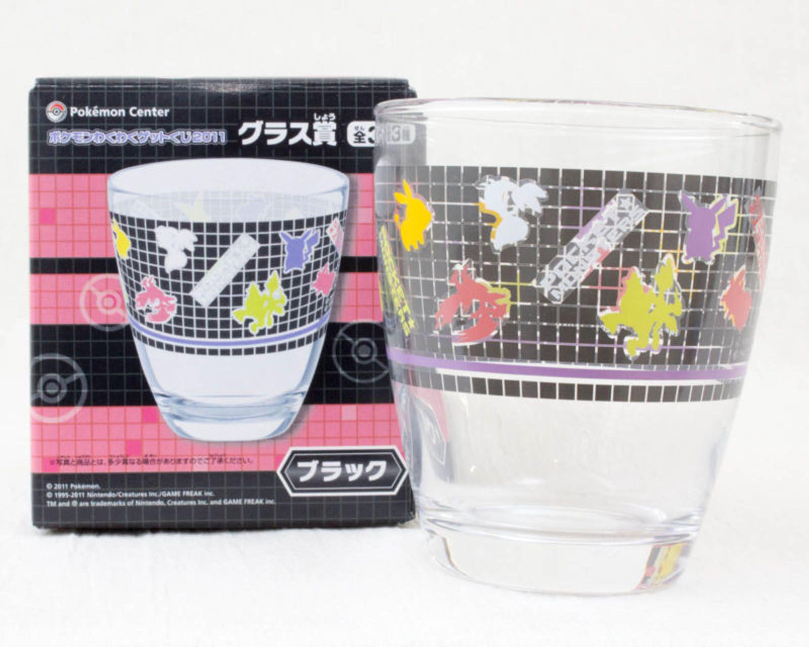 Pokemon Glass Silhouette  Pikachu Pocket Monster Center JAPAN ANIME MANGA