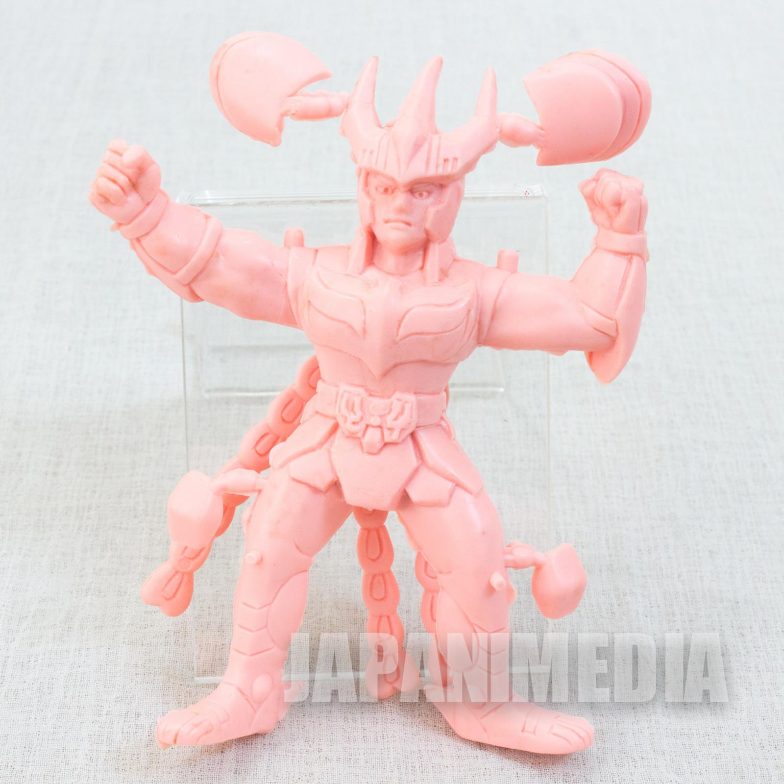 Retro RARE Saint Seiya Phoenix Ikki Rubber Figure Popy JAPAN ANIME MANGA