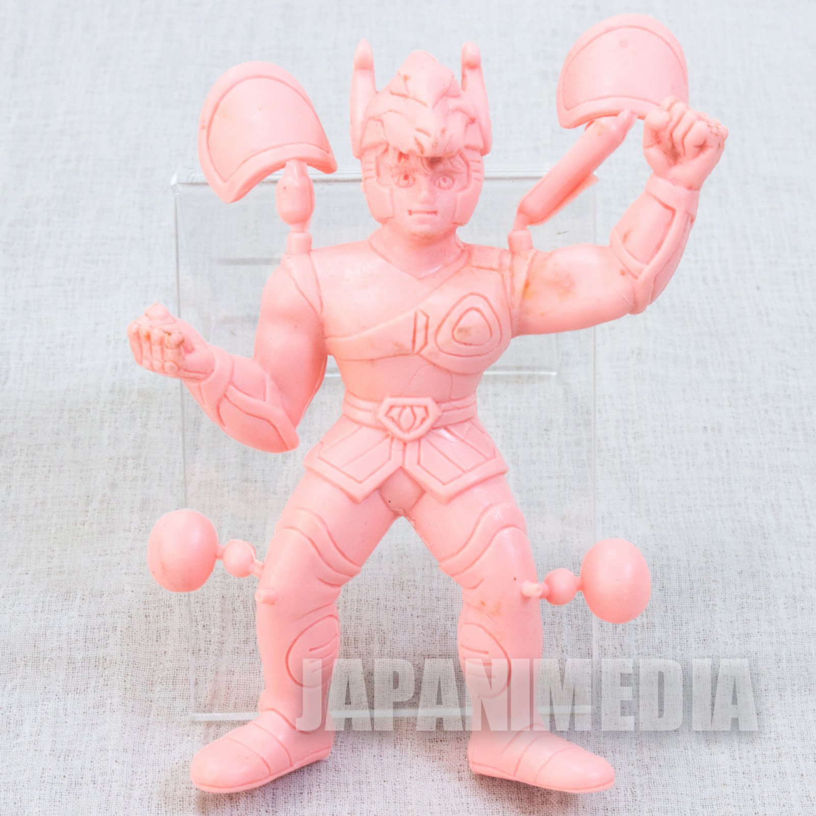 Retro RARE Saint Seiya Pegasus Seiya Rubber Figure Popy JAPAN ANIME MANGA