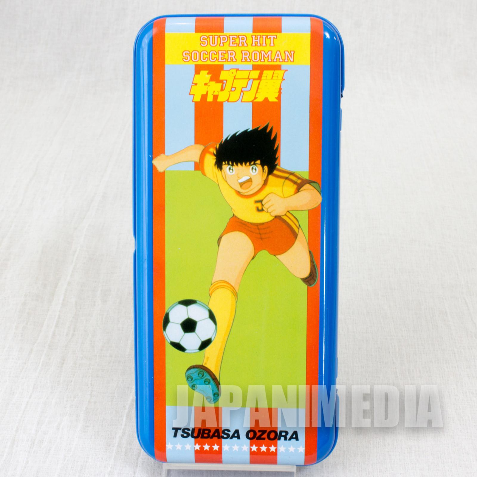 Captain Tsubasa Metal Pen Case #1 JAPAN ANIME MANGA