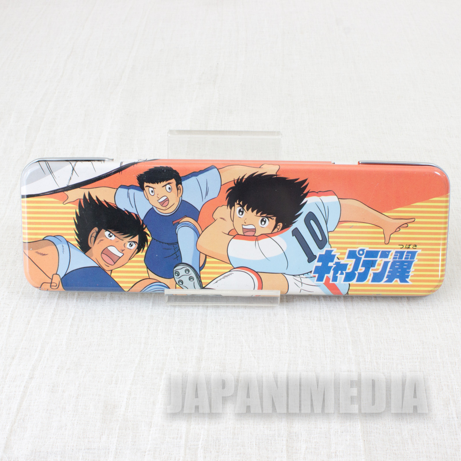 Captain Tsubasa Metal Pen Case #3 JAPAN ANIME MANGA