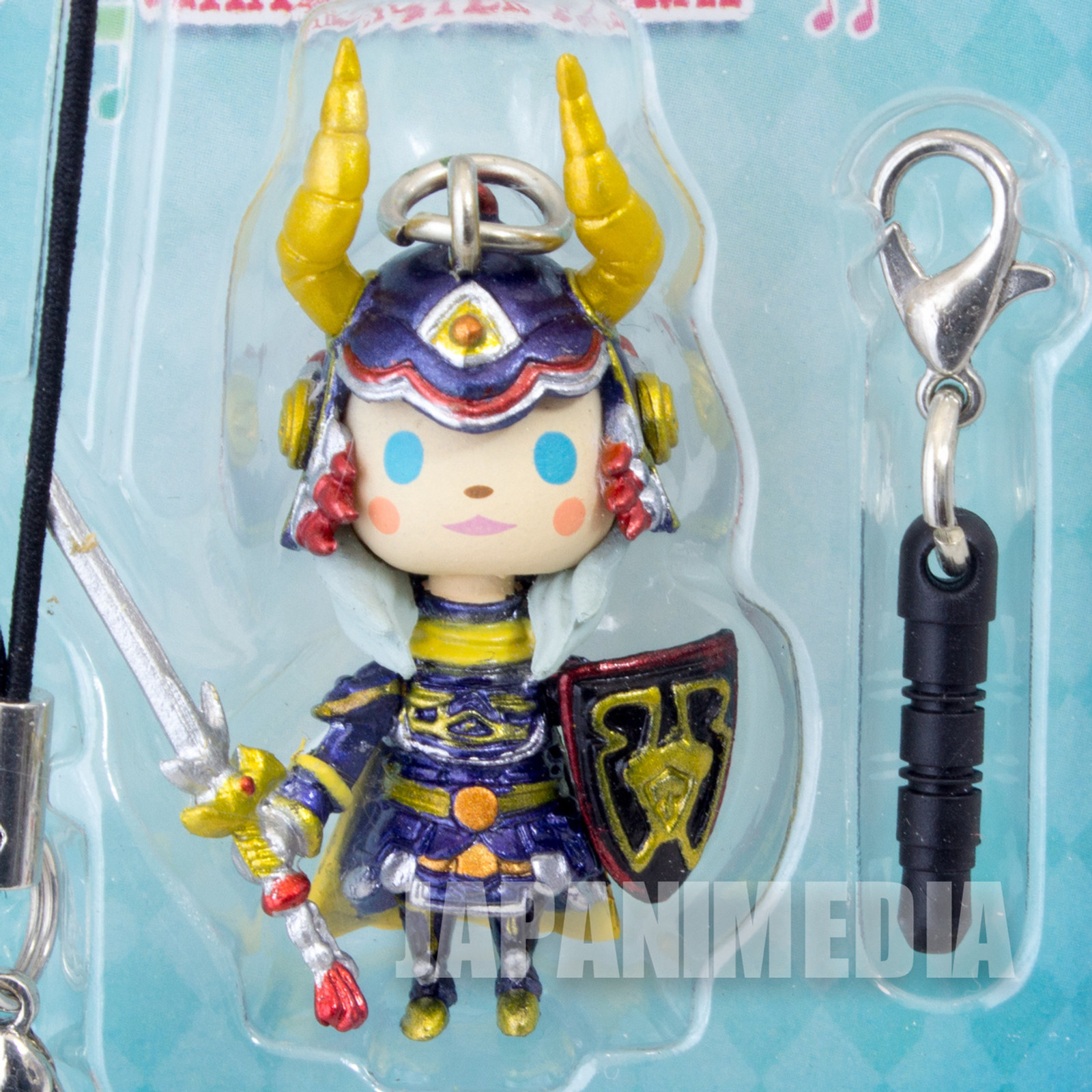 RARE! Final Fantasy Theatrhythm Character Figure Strap Hero of Light SQUARE ENIX