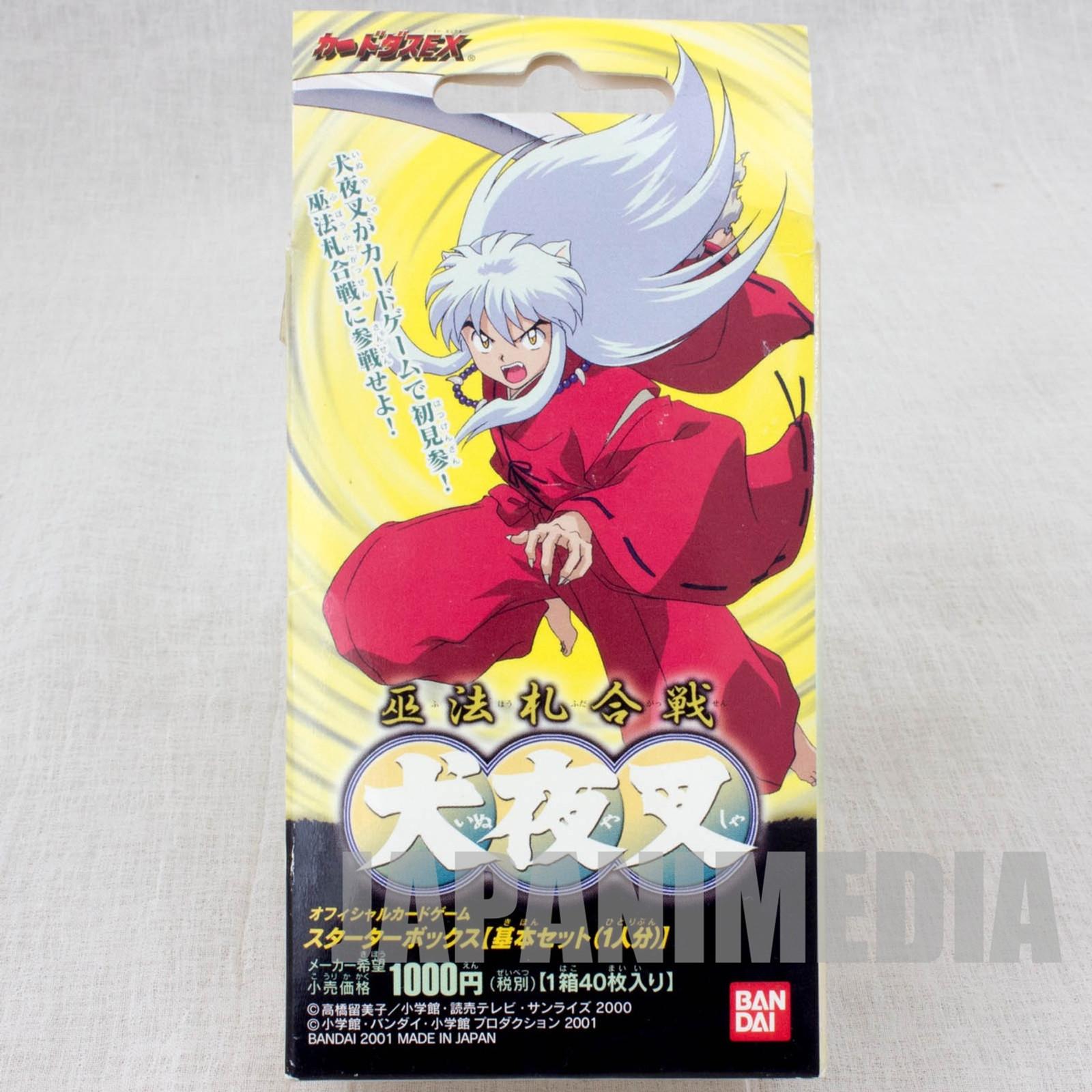 Inuyasha Carddas EX Starter Box 40 cards Set BANDAI JAPAN ANIME MANGA