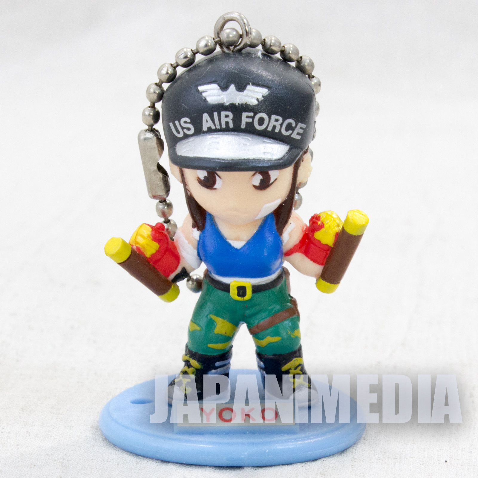 LAST BRONX Yoko Kono SEGA Gals Special Figure Ball chain JAPAN GAME
