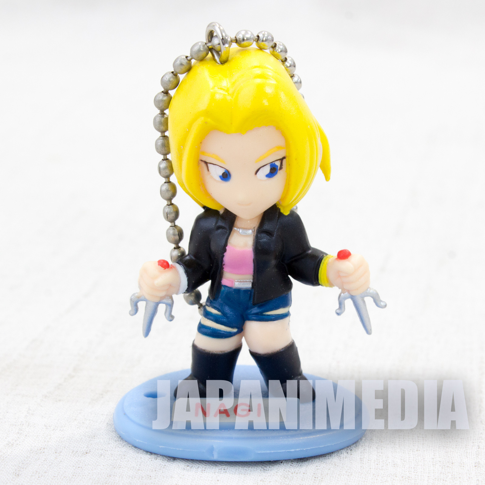 LAST BRONX Nagi Hojo SEGA Gals Special Figure Ball chain JAPAN GAME