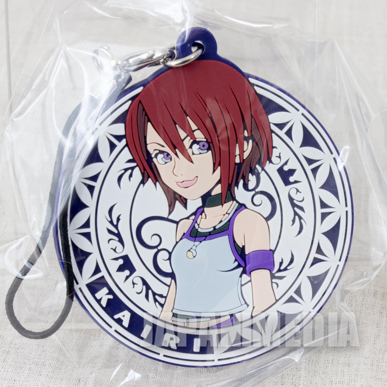 Kingdom Hearts KAIRI Mascot Rubber Strap Square Enix JAPAN