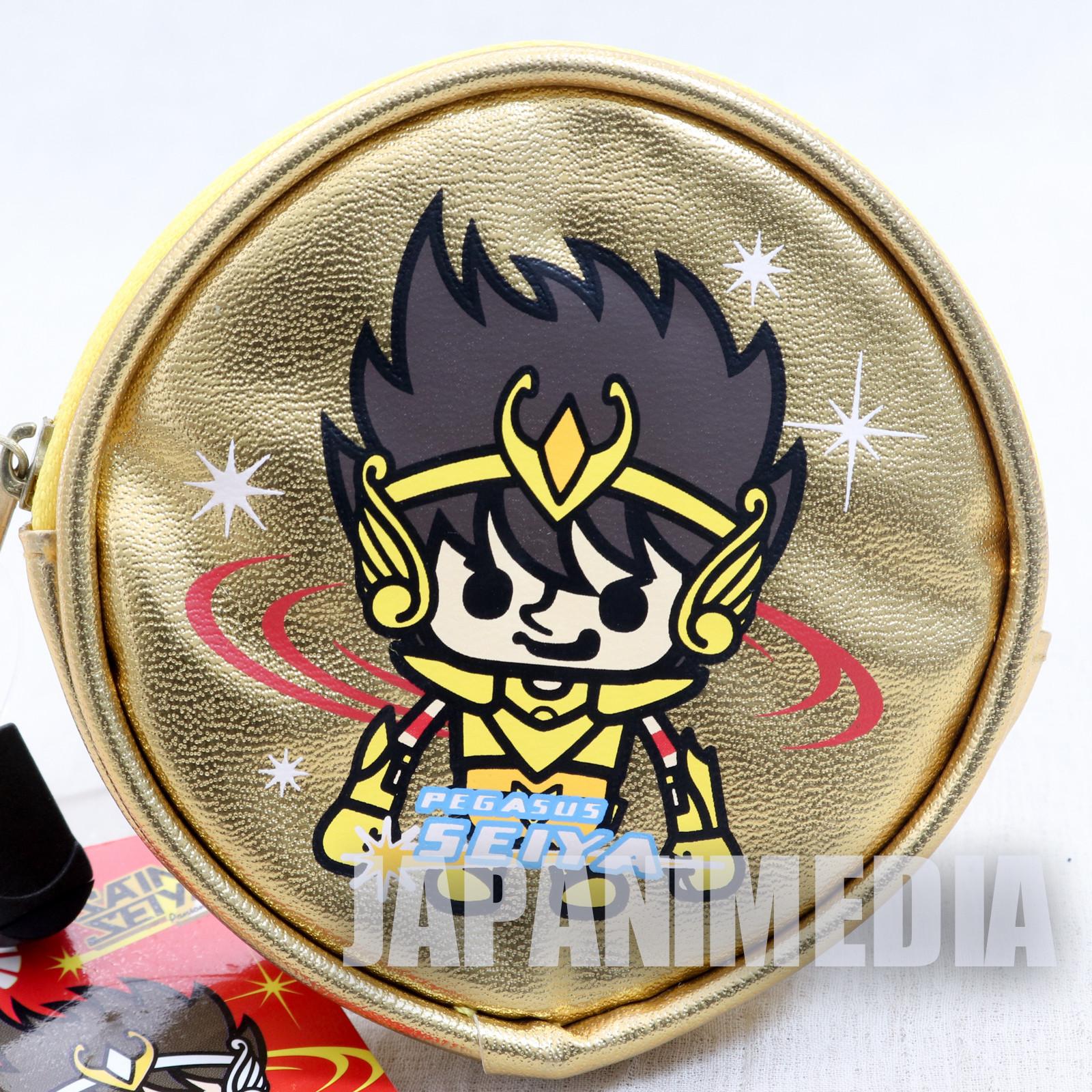 Saint Seiya Pegasus Seiya Panson Works Gold Coin Case JAPAN ANIME MANGA