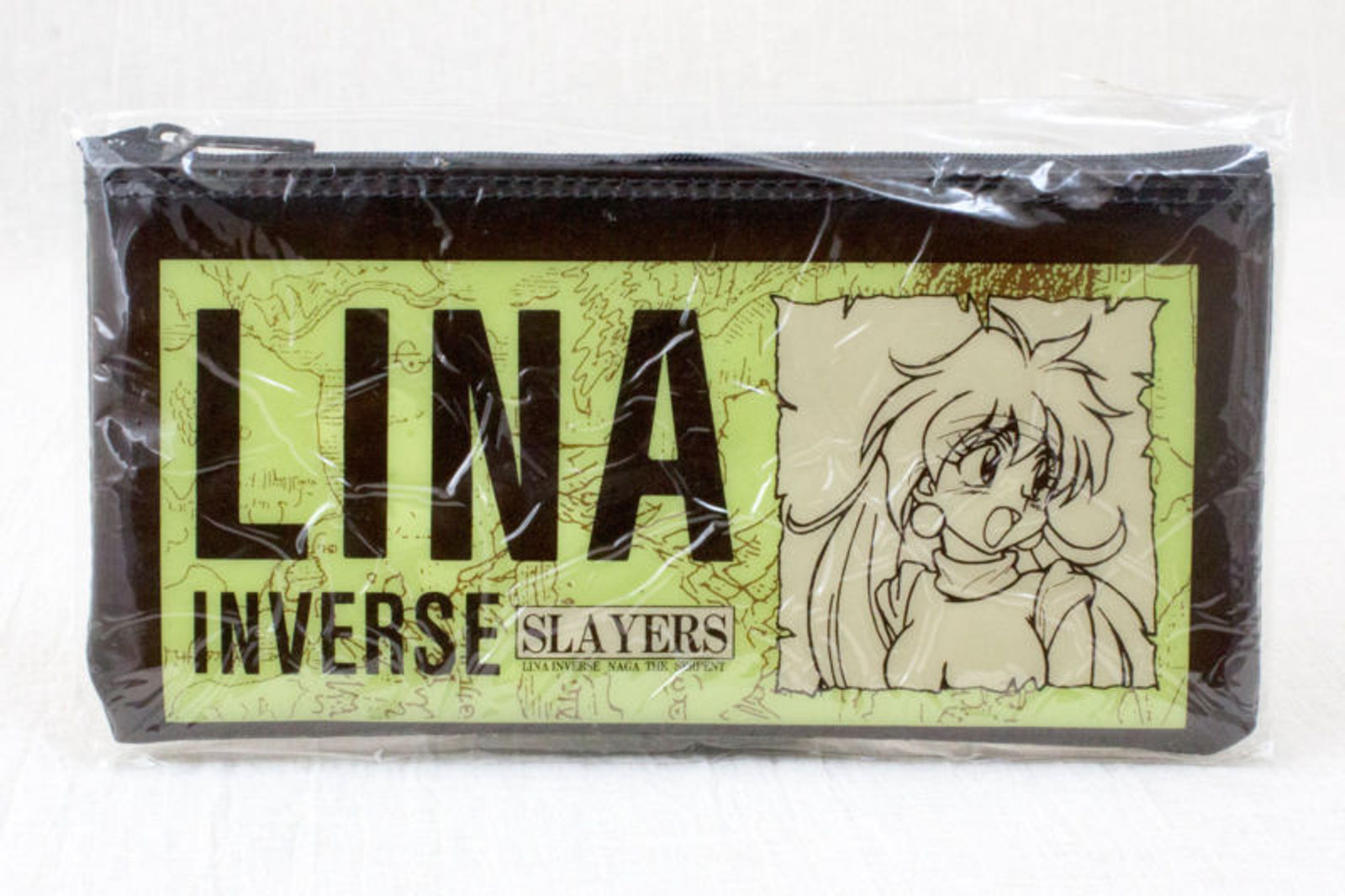 Slayers Lina Inverse Naga The Serpent Vinyl Pen Case JAPAN ANIME MANGA