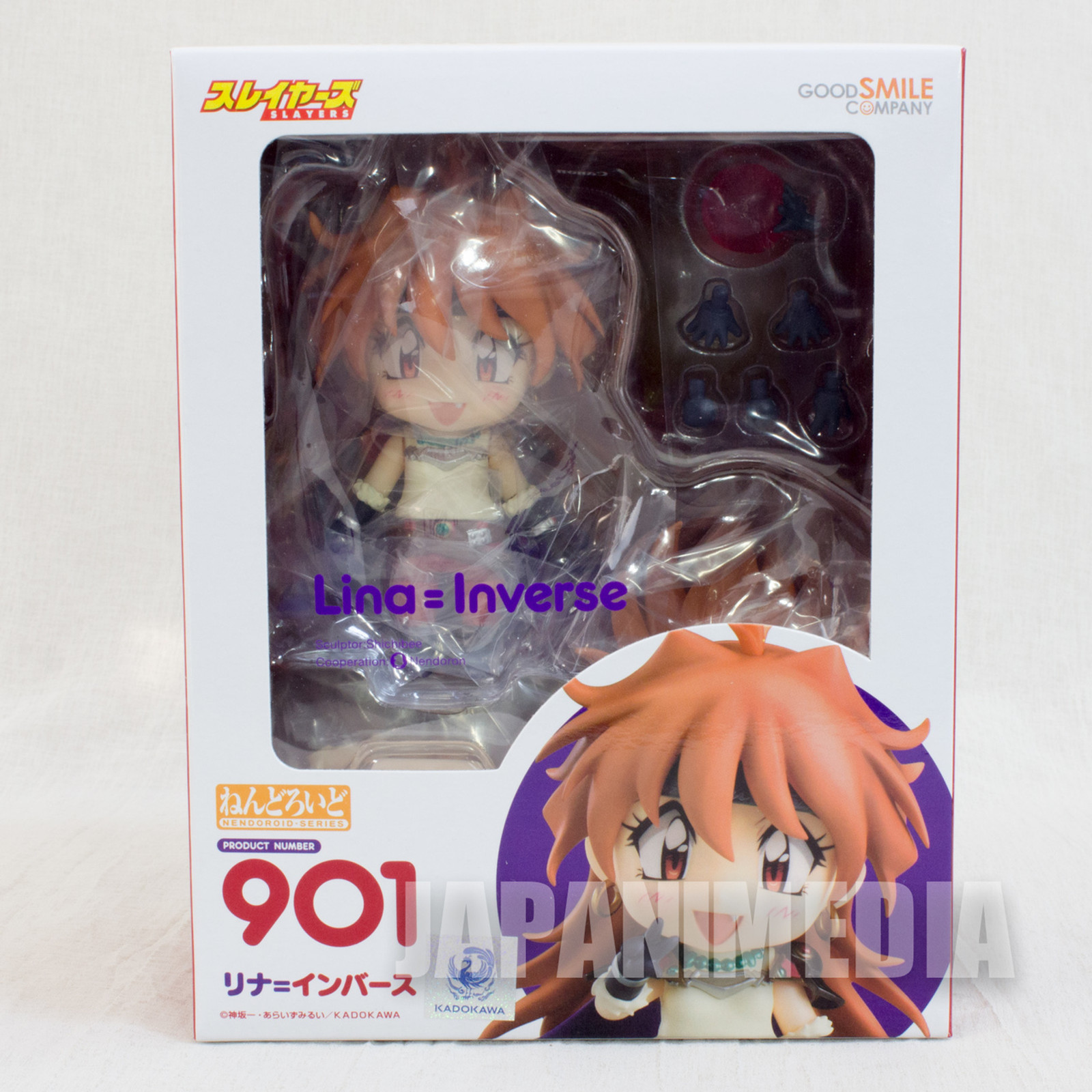 Slayers Lina Inverse Nendoroid Figure Good Smile Company JAPAN ANIME